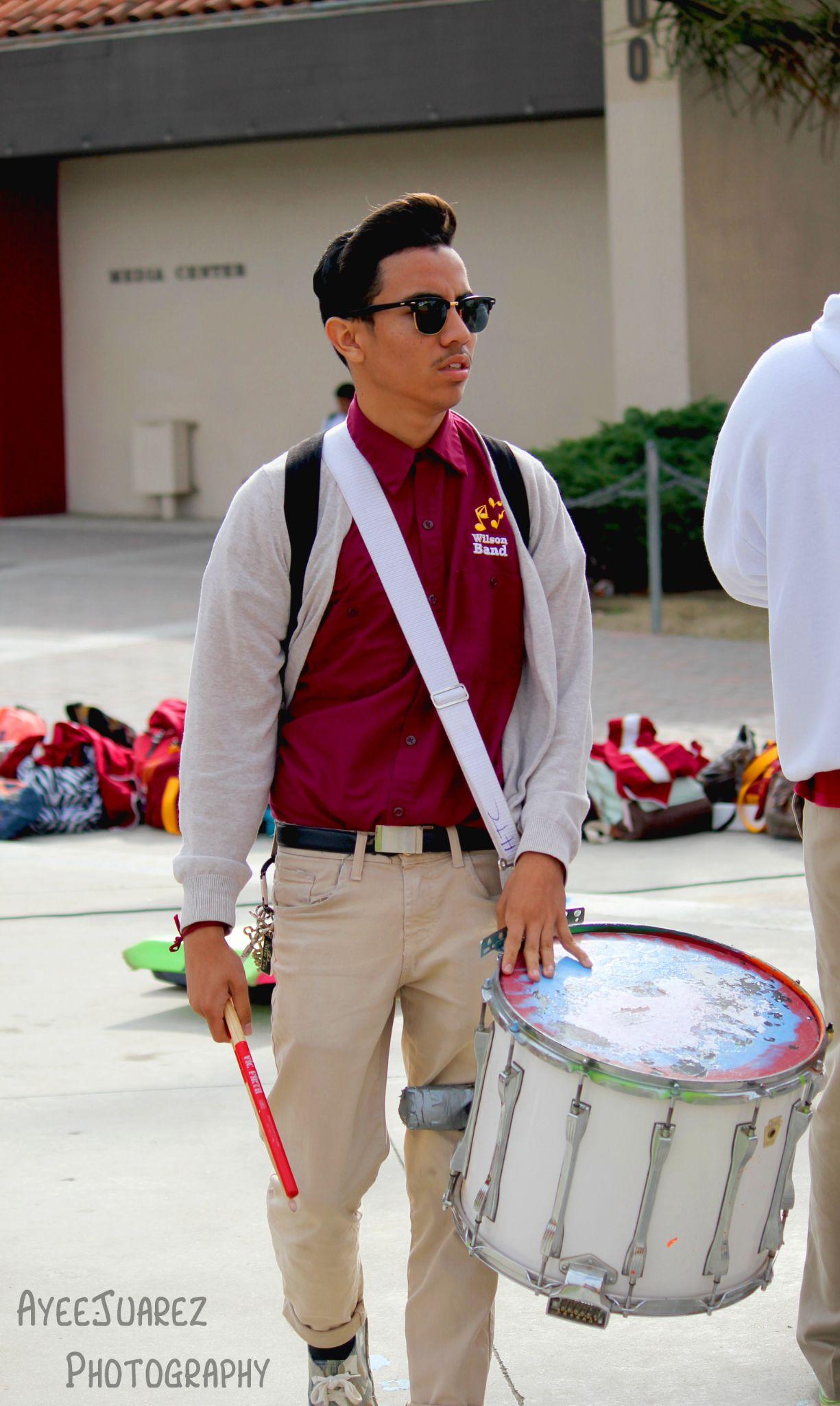 Drummer Boy by Andrew Juarez