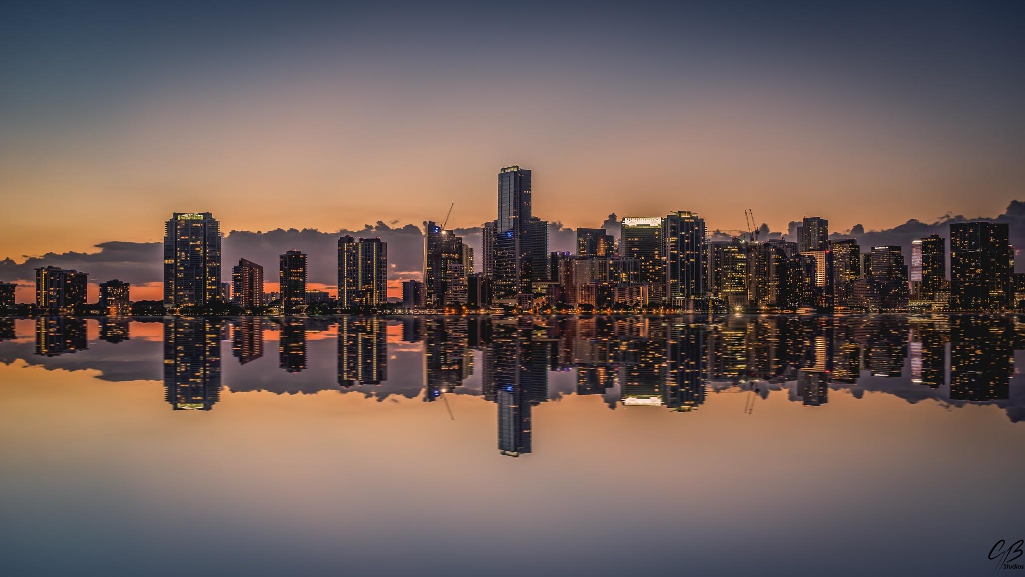 Brickell Miami by Corey B Studios
