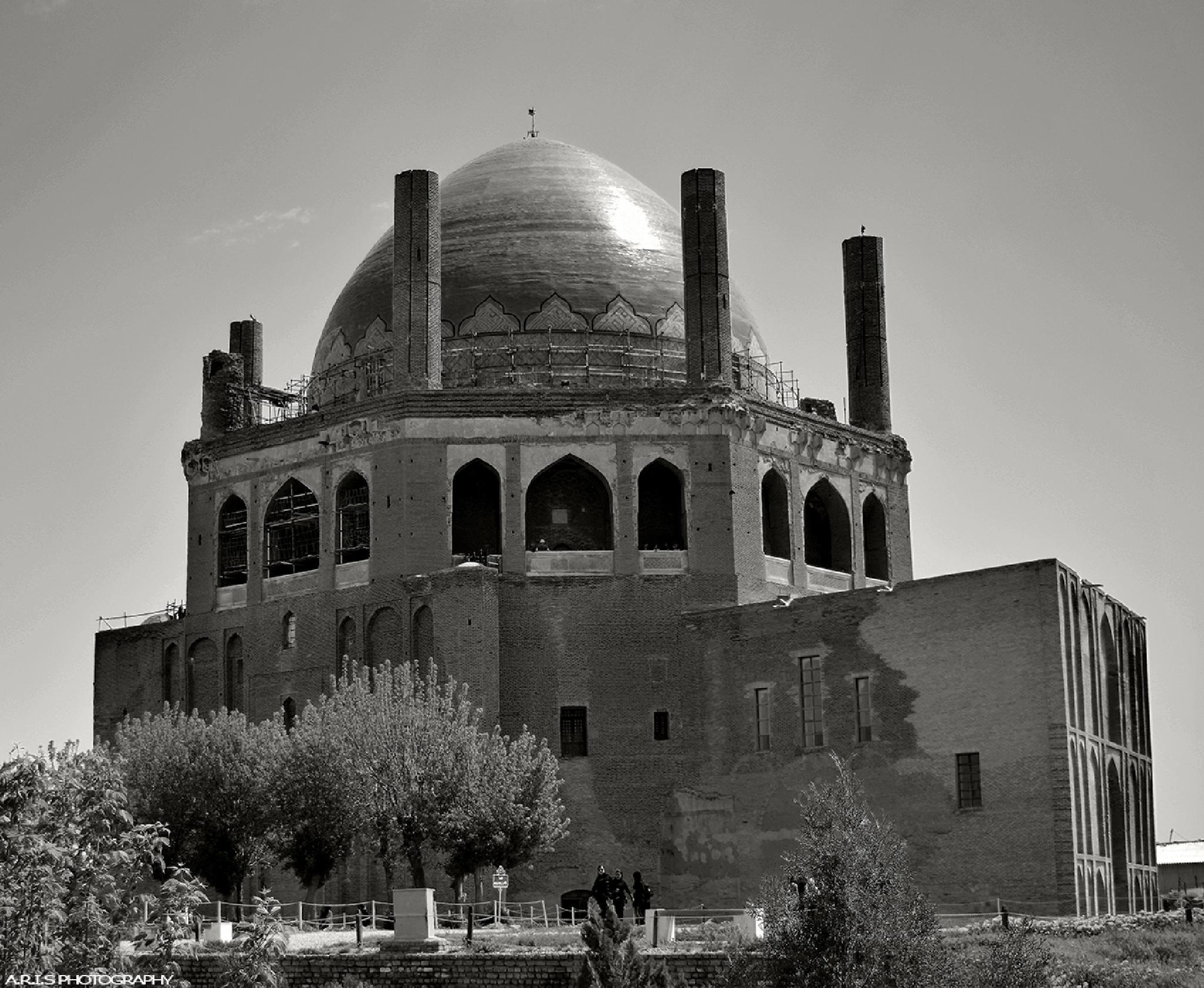 Iran _ Zanjan _ Soltaniyeh dome by alireza.izadi.sarcheshme
