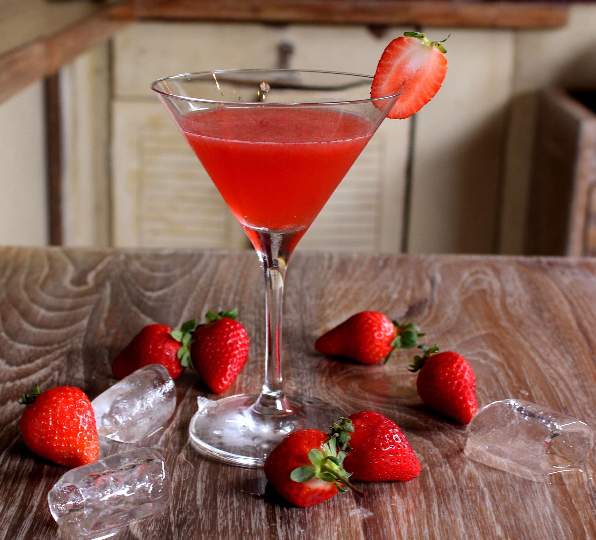 Strawberry Martini by ashutoshjha