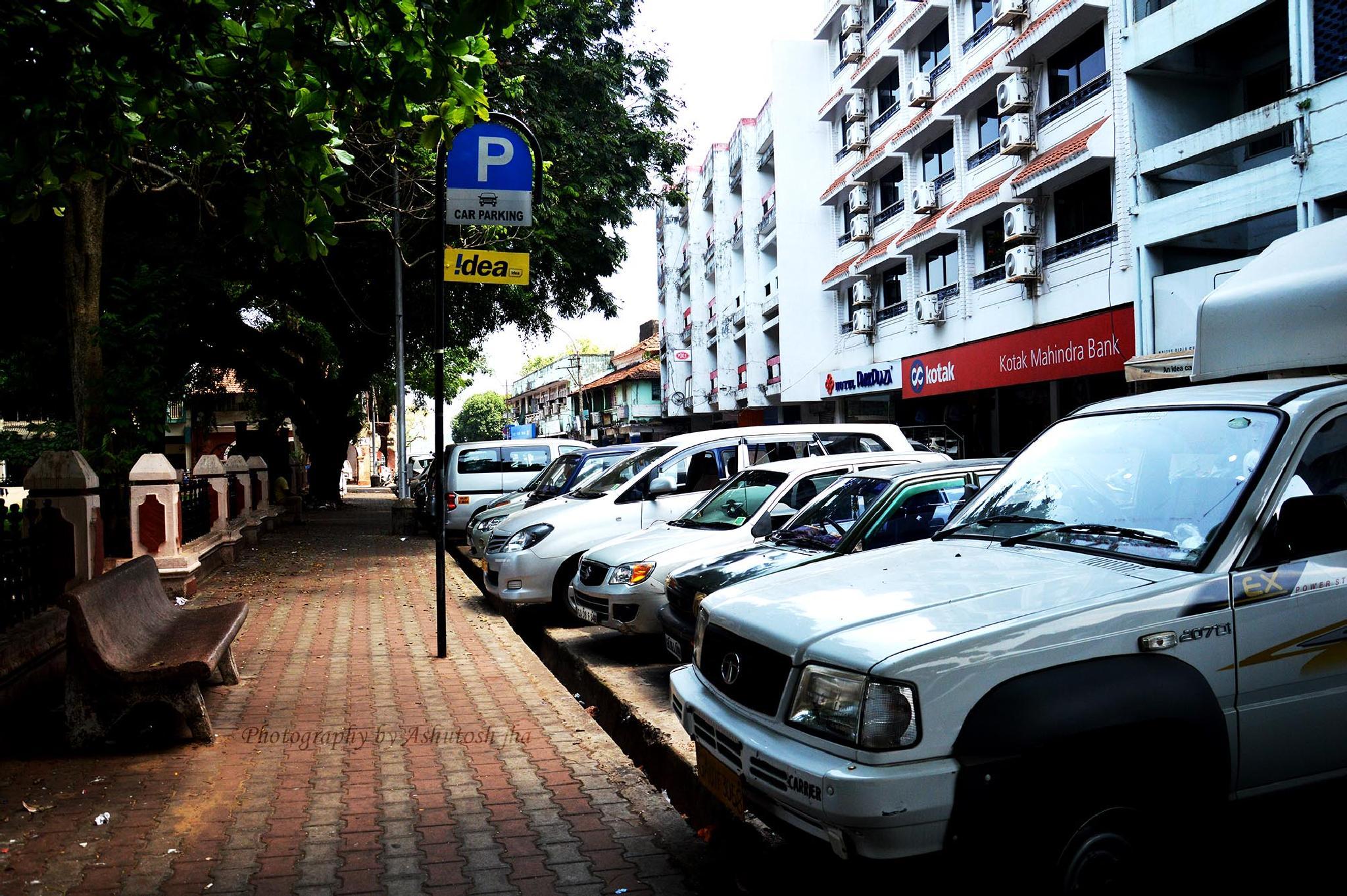 Parking Zone by ashutoshjha