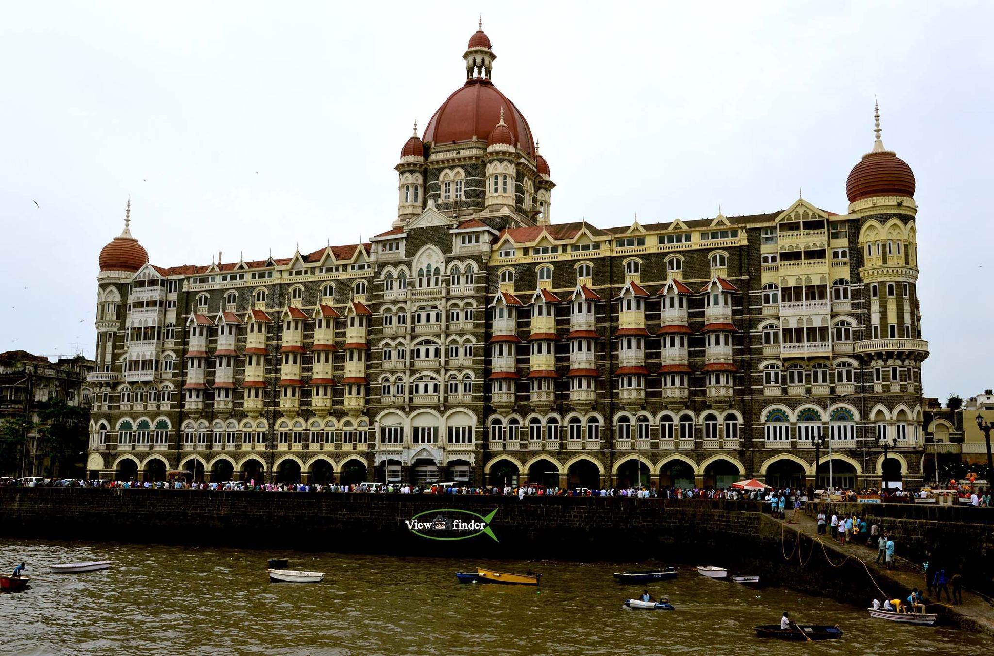 THE TAJ MAHAL PALACE From front by ashutoshjha