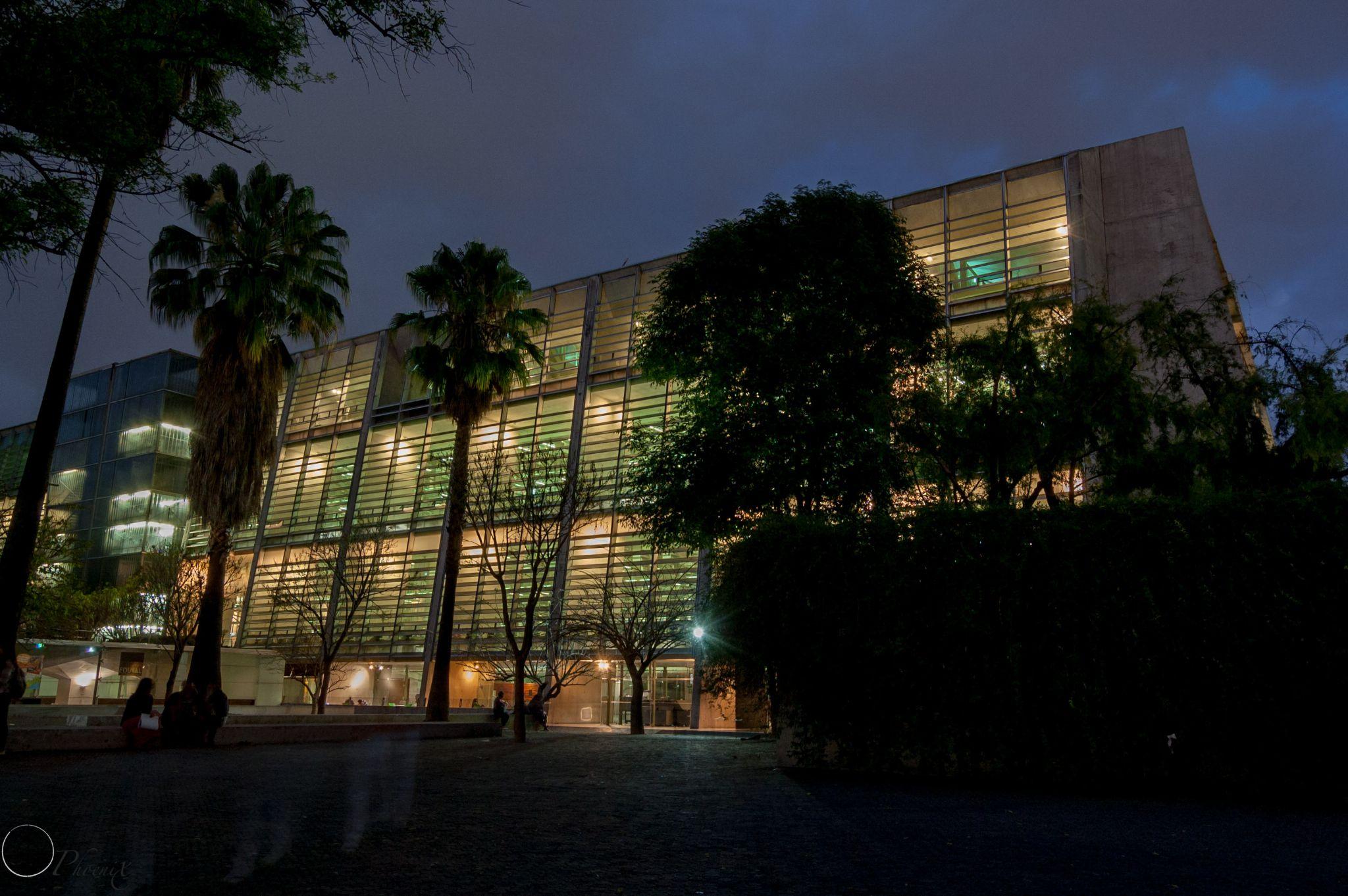 Jose Vasconcelos Public Library by Phoenix