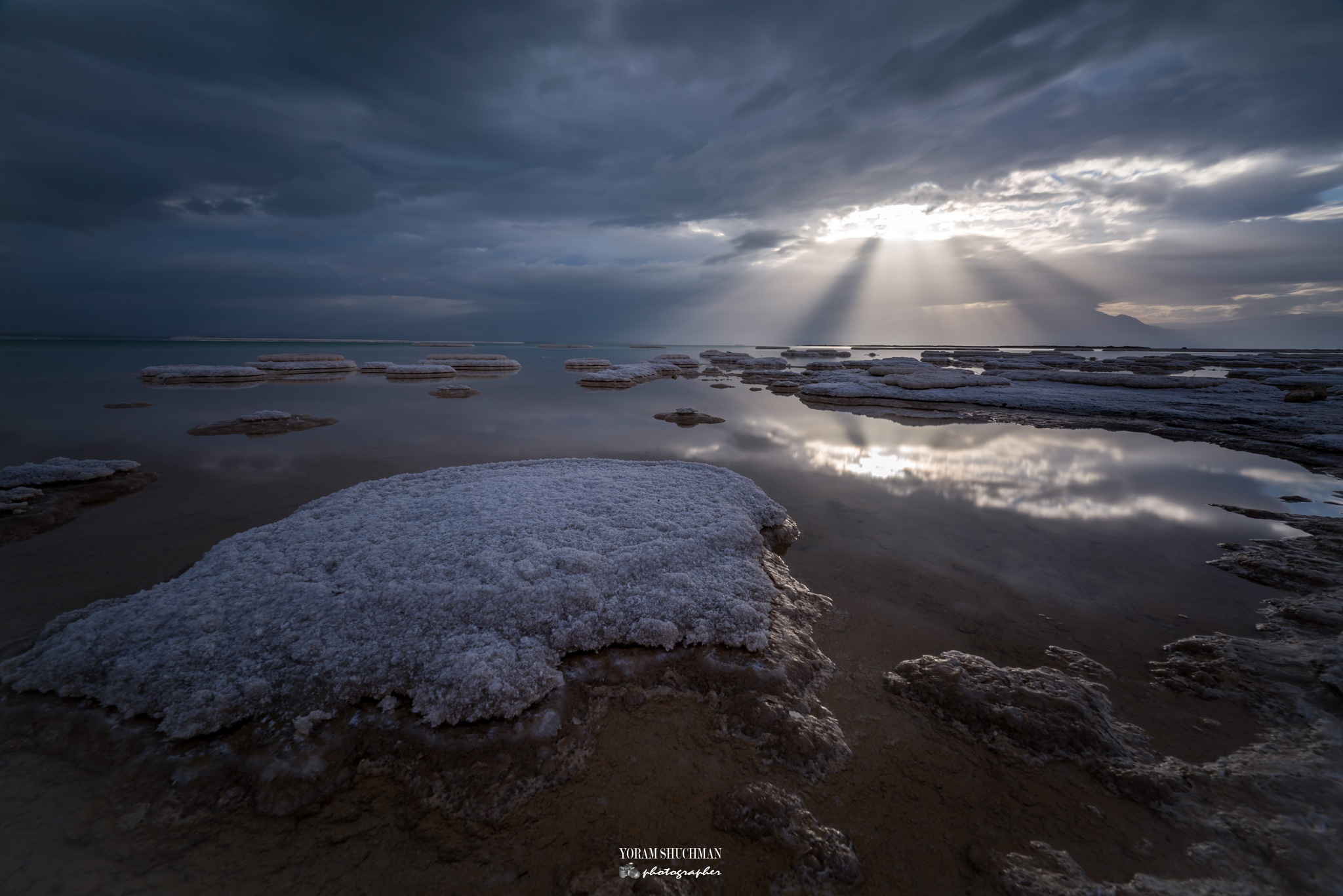 Sunrise at the Dead Sea by yoram.shuchman