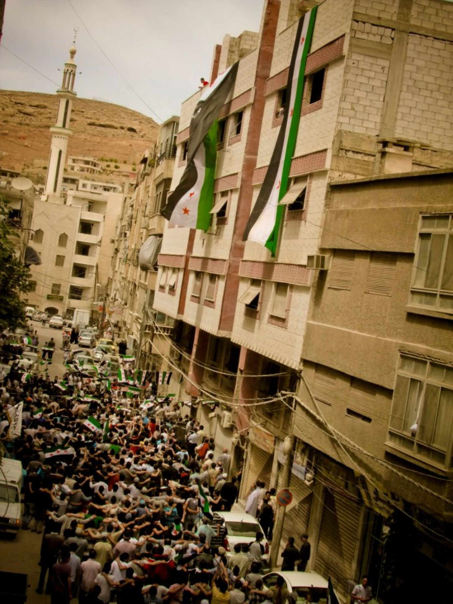 Syrian revolution  by Tareq Albaba