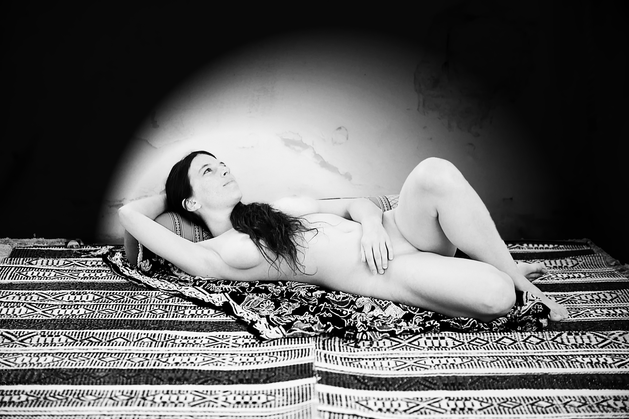 In the Spotlight by Moti fine art nude photography