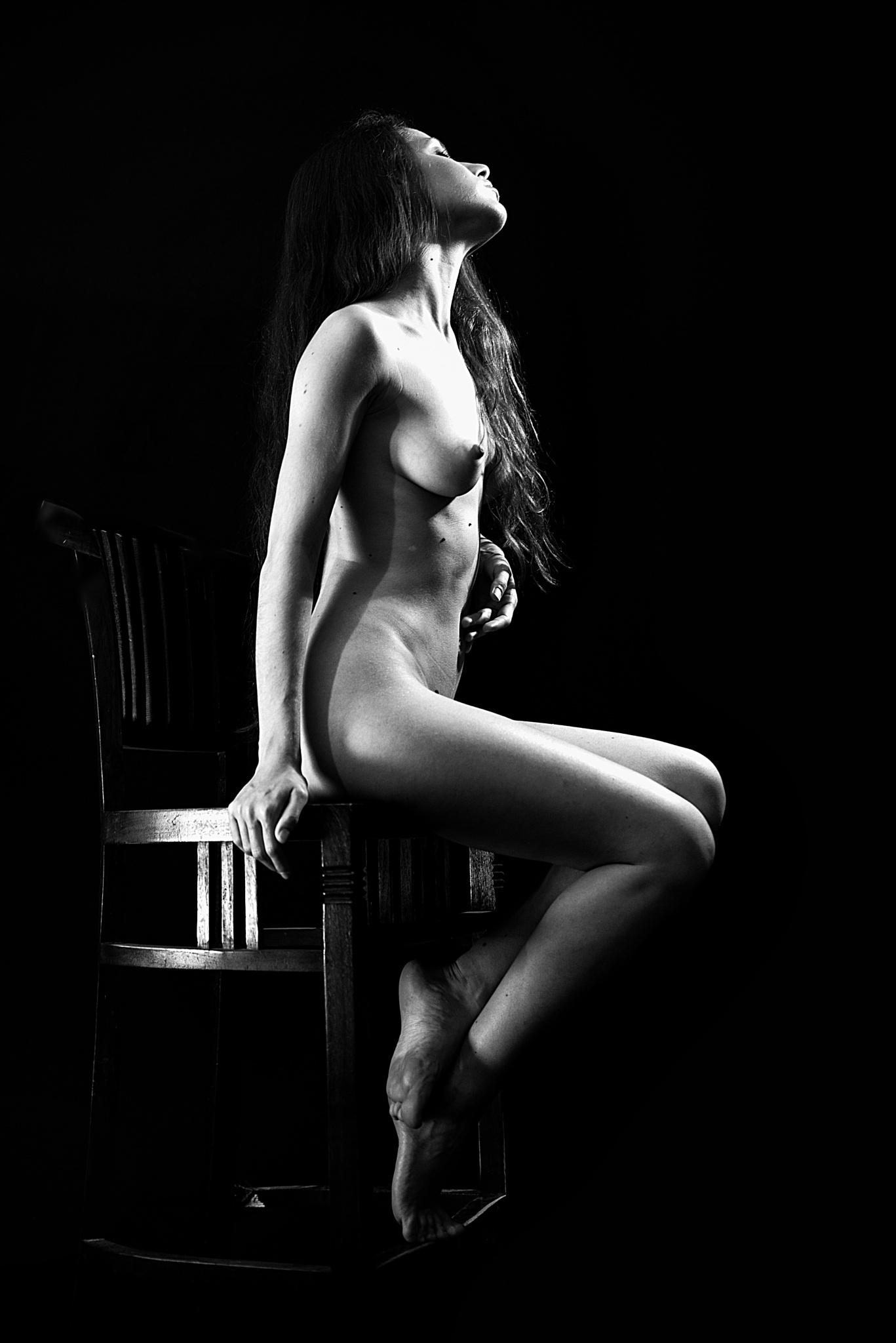 Flashlight by Moti fine art nude photography
