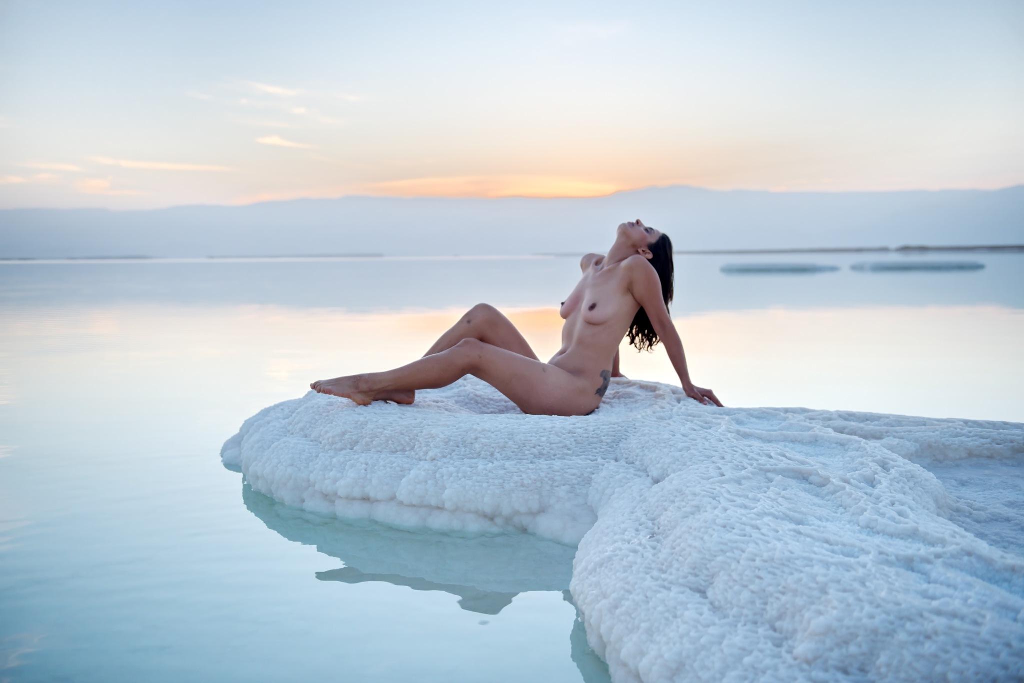 Rock of salt by Moti fine art nude photography