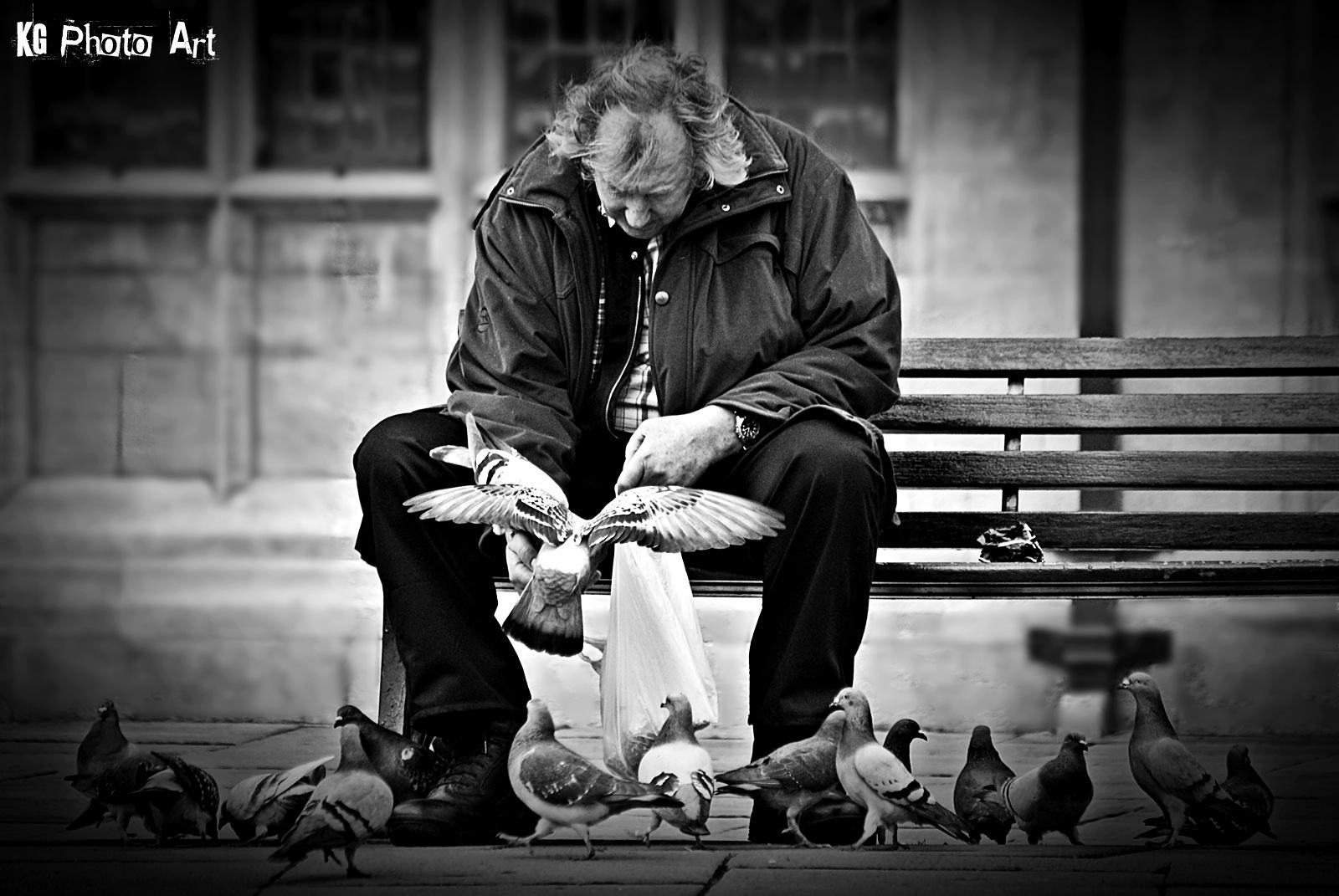 bird man by Kamil Gaweł