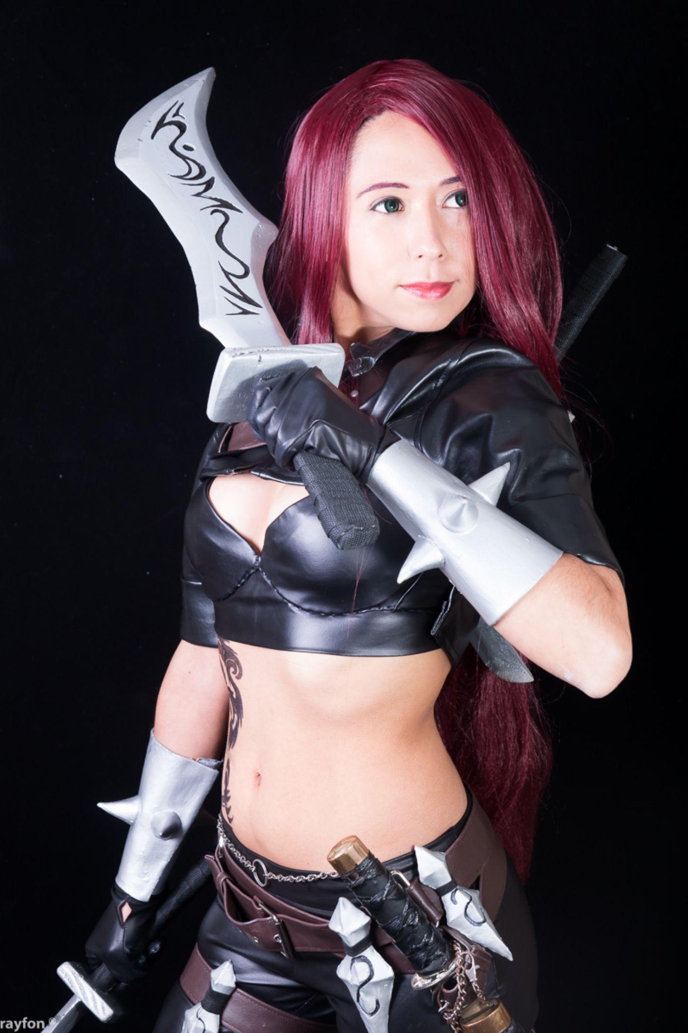 Katarina // League of Legends by Rainiero Barra