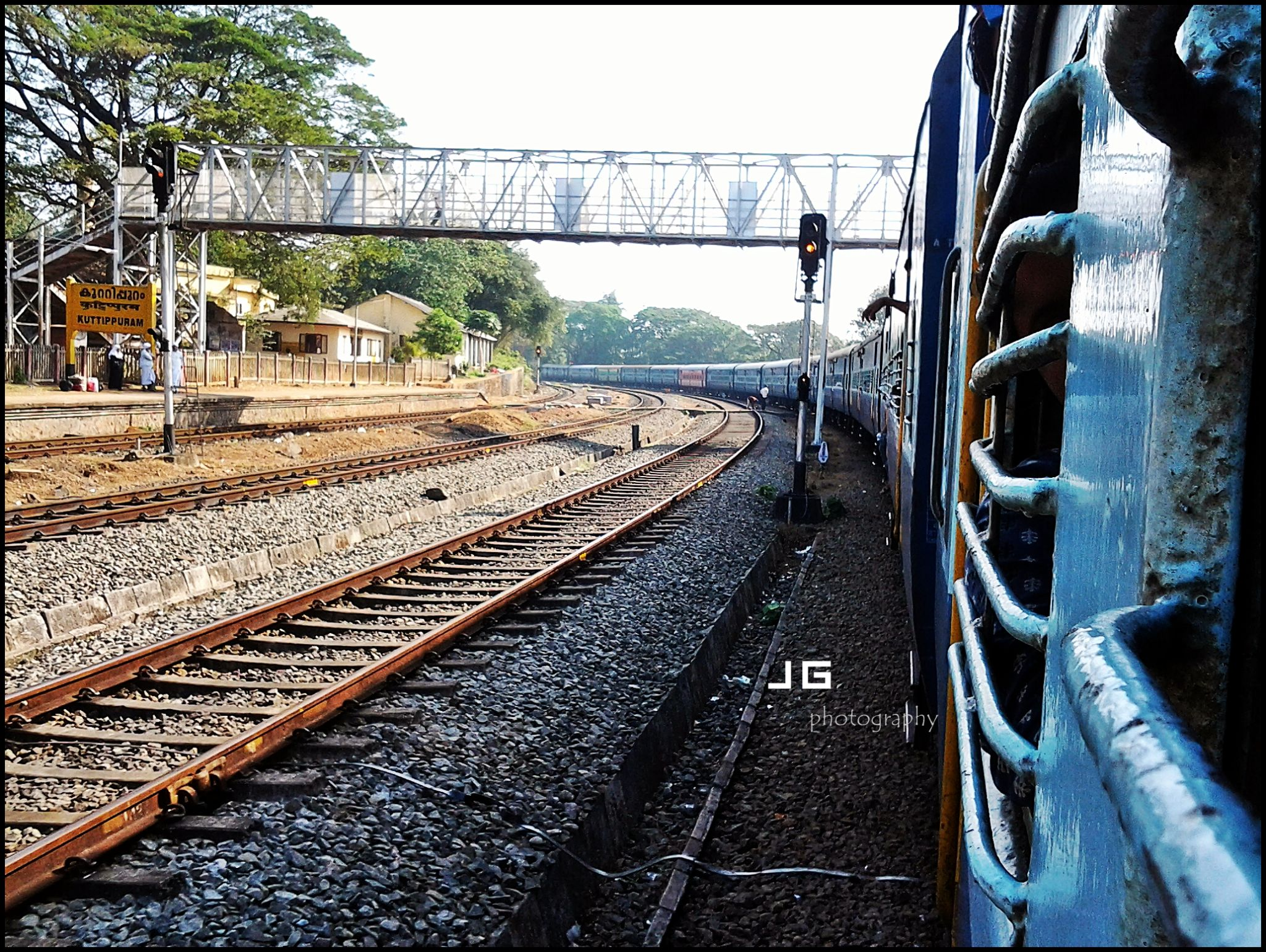 Happy Journey- Indian Railway by Jg Mobile Photography