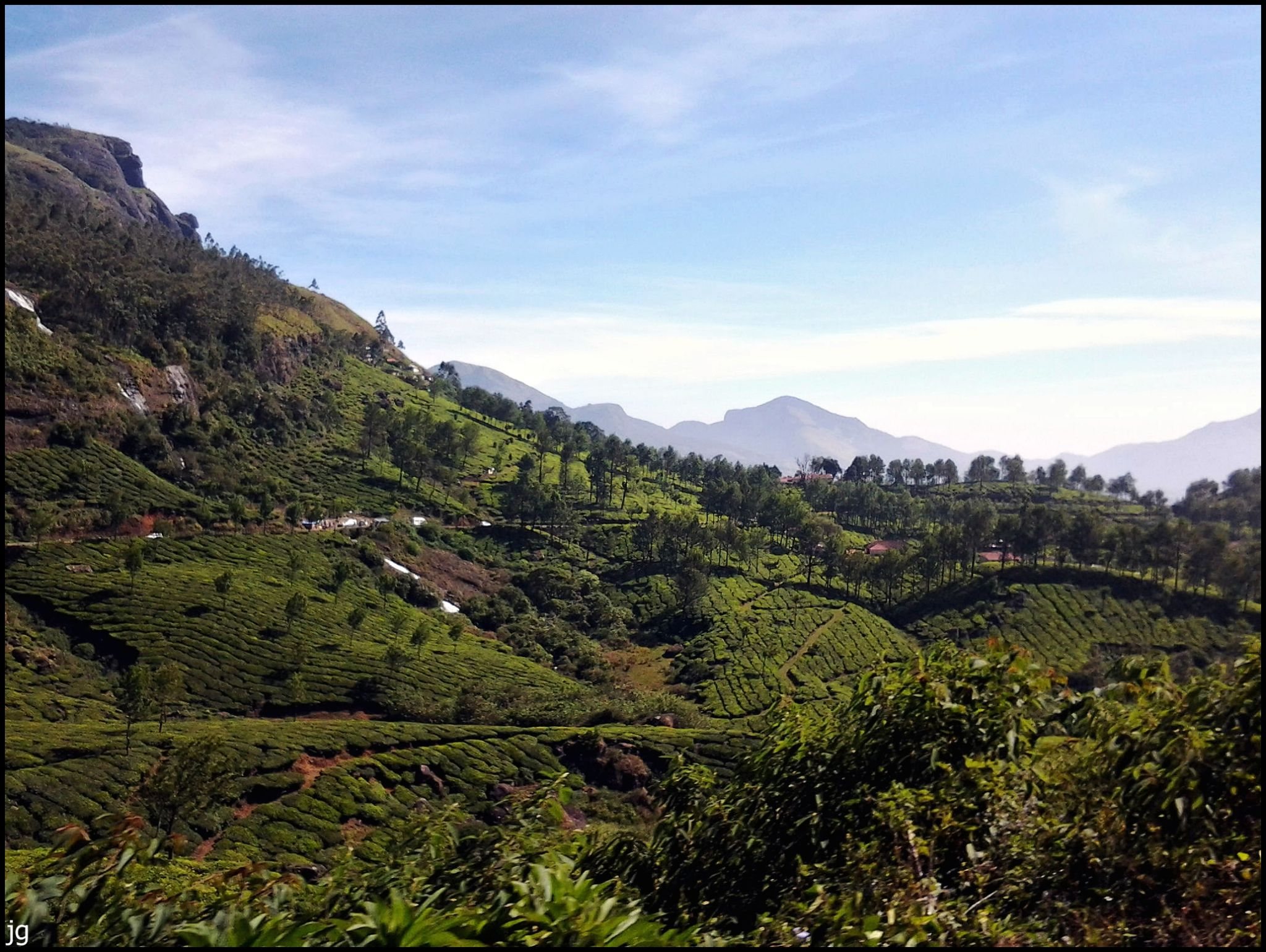 Munnar (Kashmir of South India), Kerala, India by Jg Mobile Photography