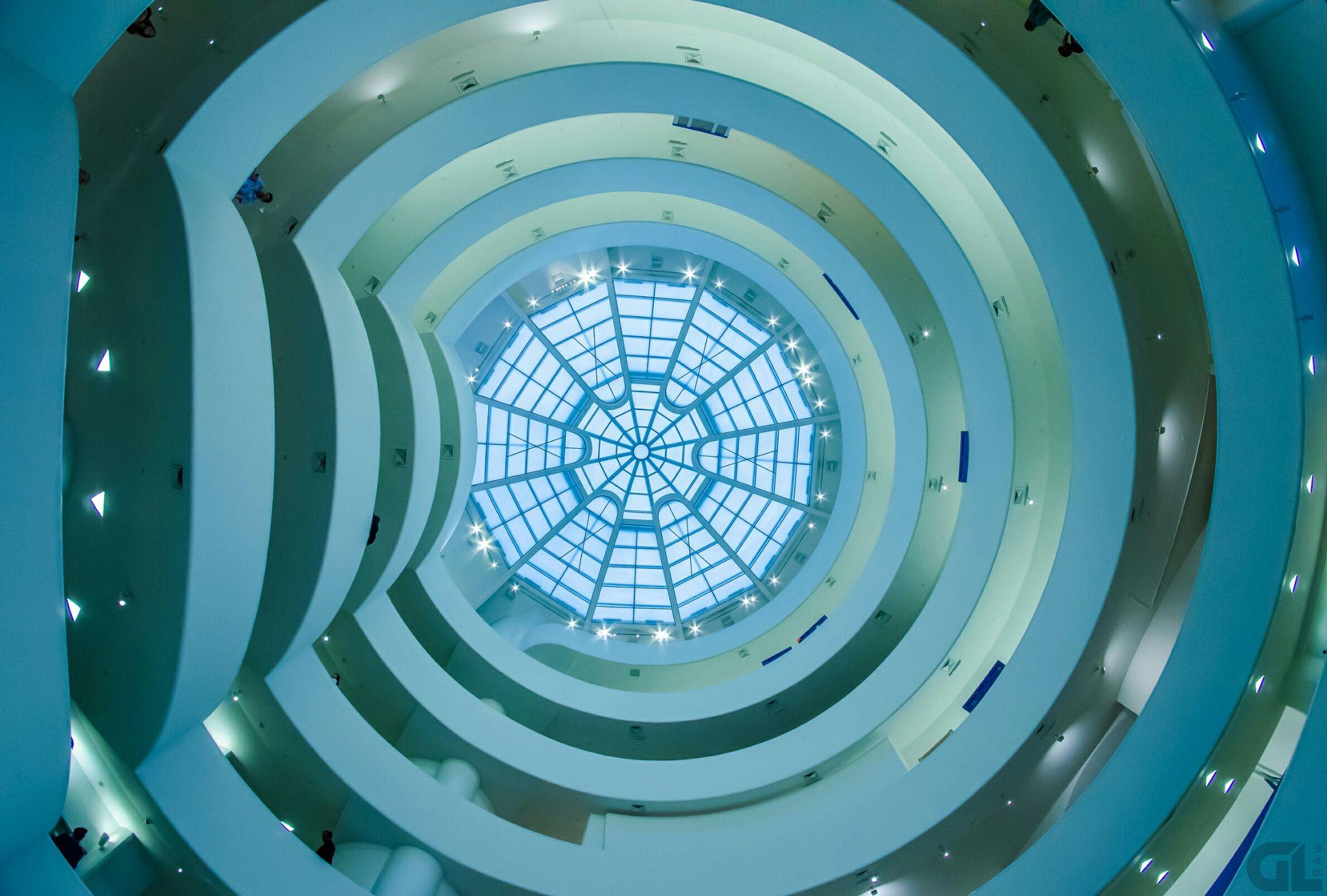New York Solomon R. Guggenheim Museum by GL Photography