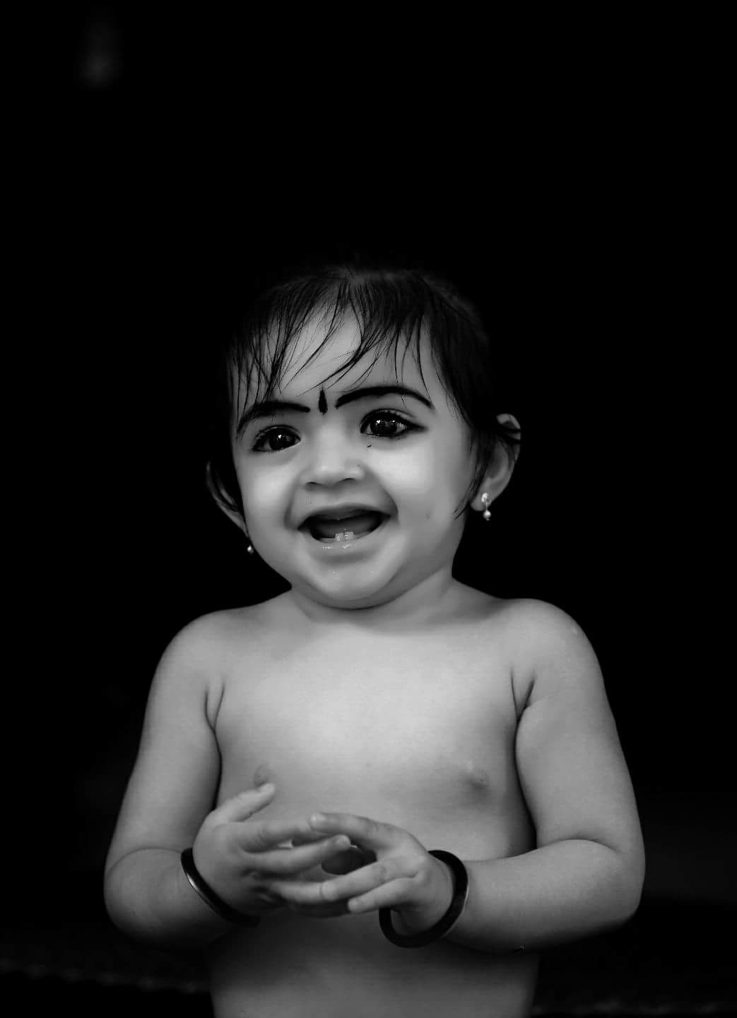 baby black and white by jithin.pv.9