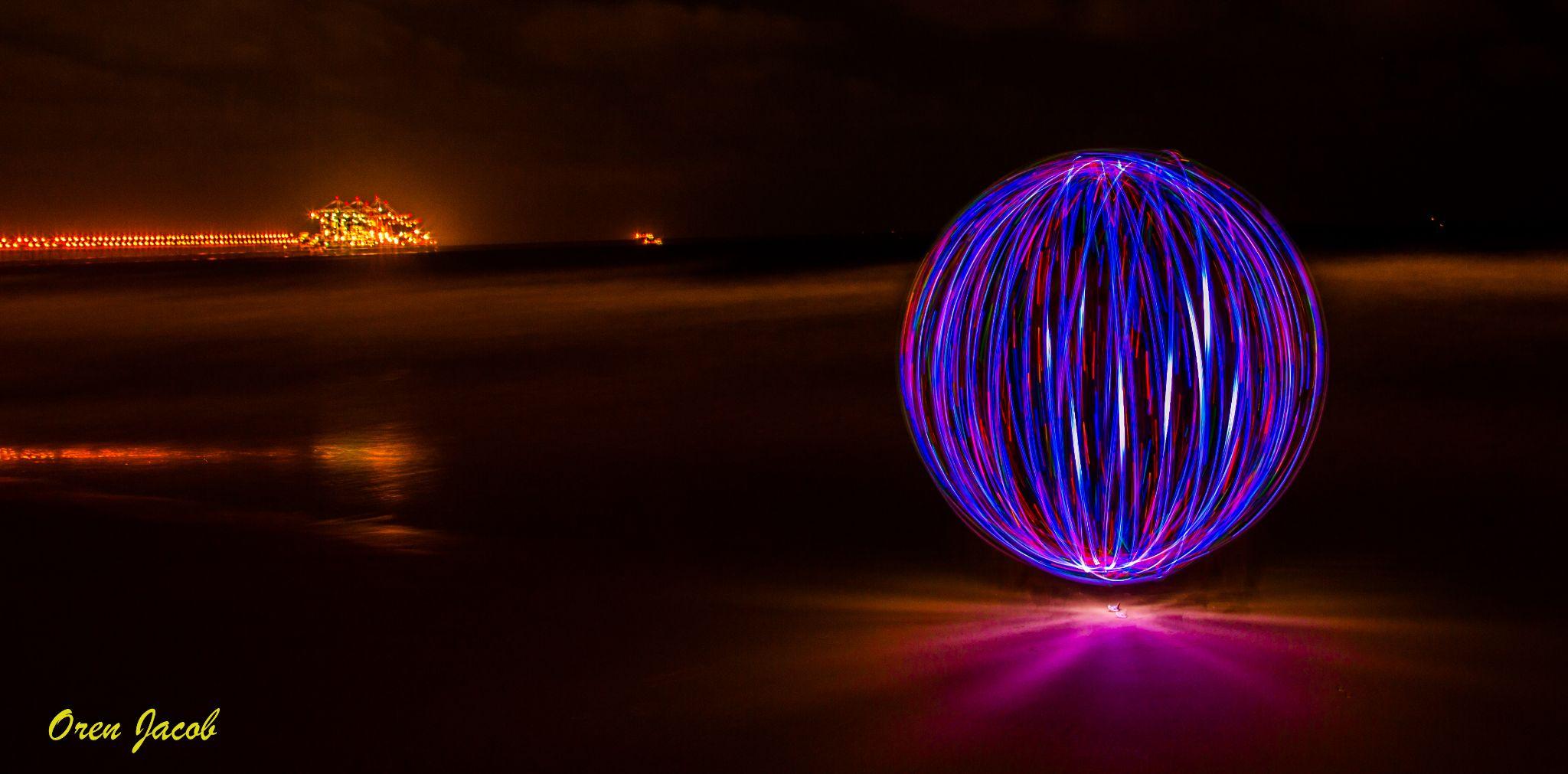 Lighting - Dor Beach - Israel by oren.yacob