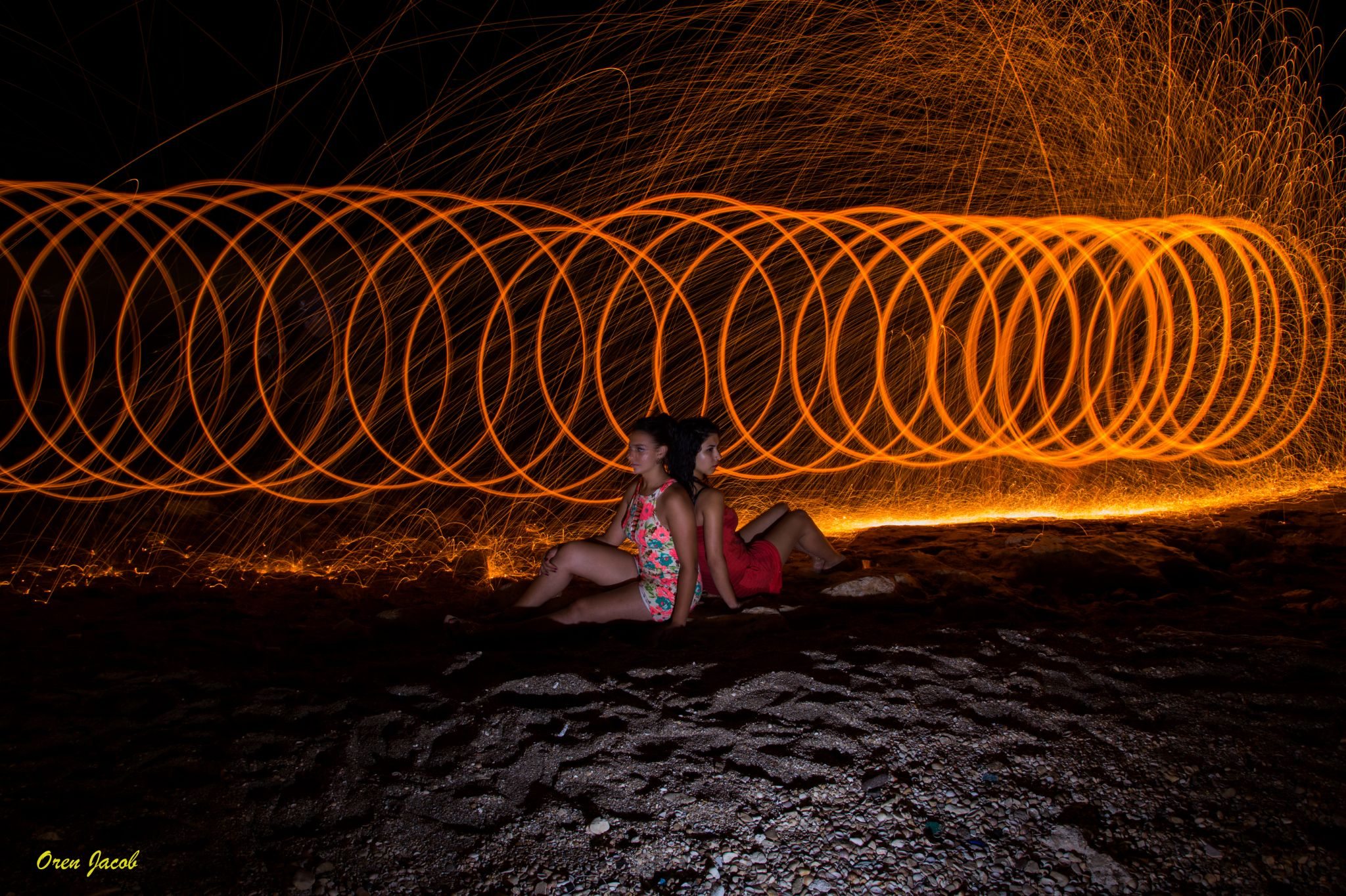 Spiral of Fire by oren.yacob