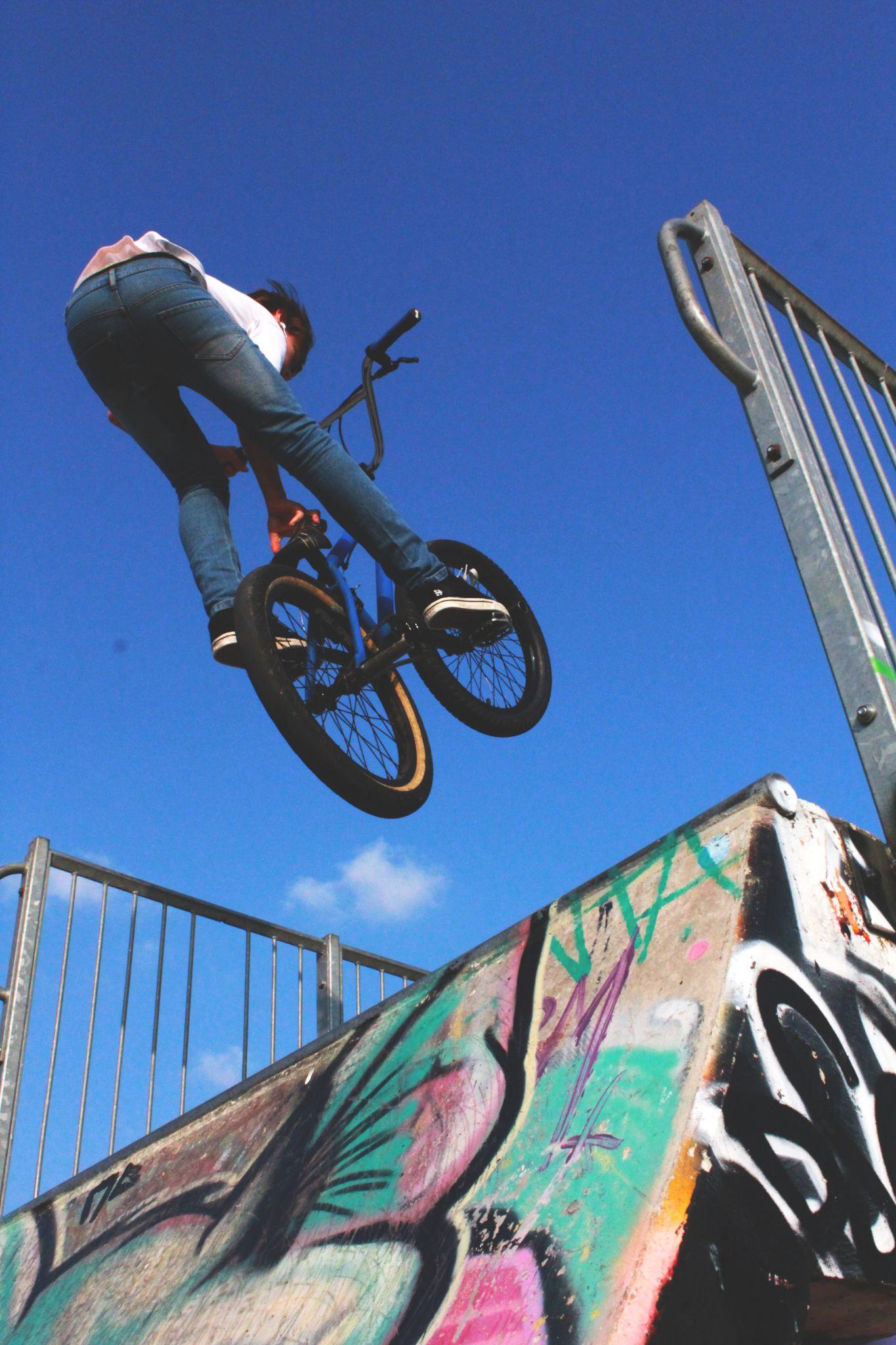 BMX Seat Grab by MyTeenPortfolio