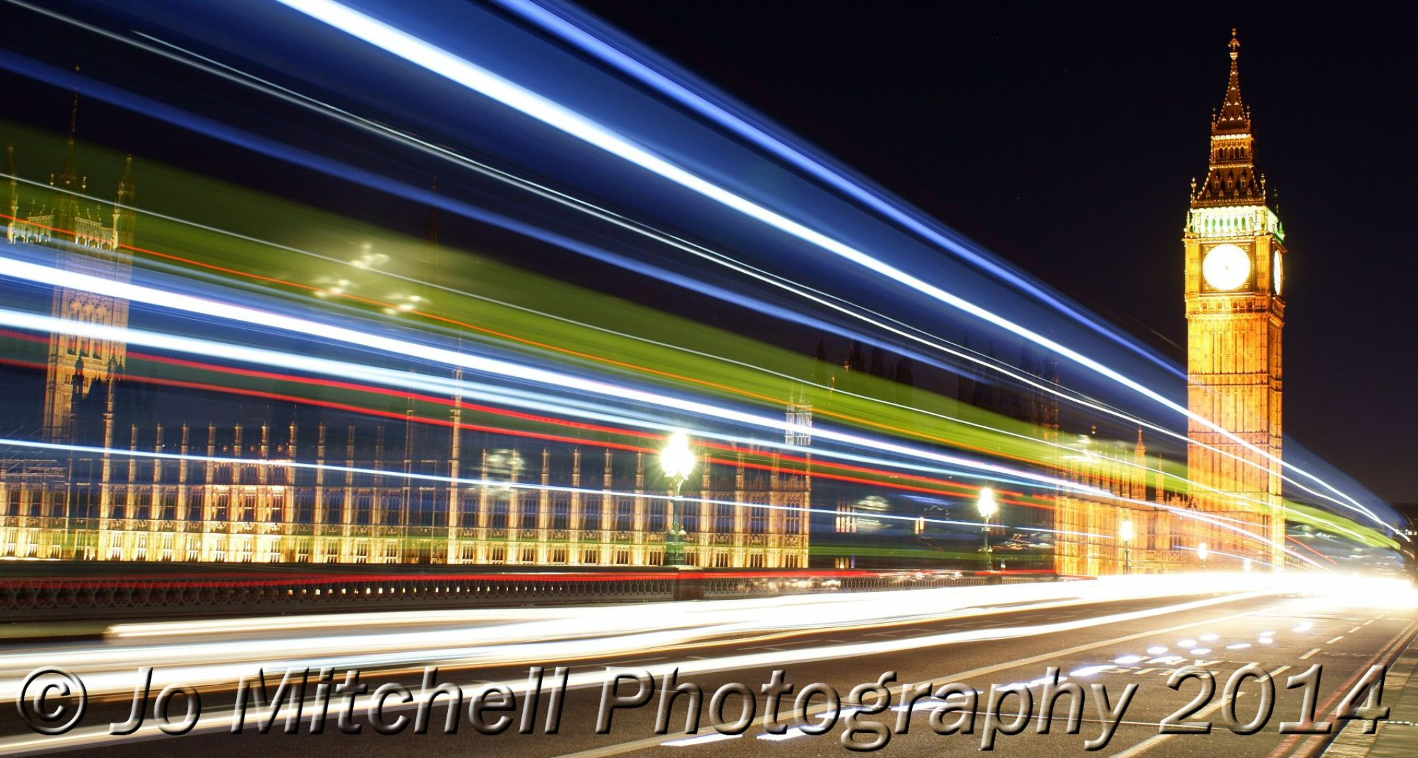Westminster Long Exposure by Jo Mitchell