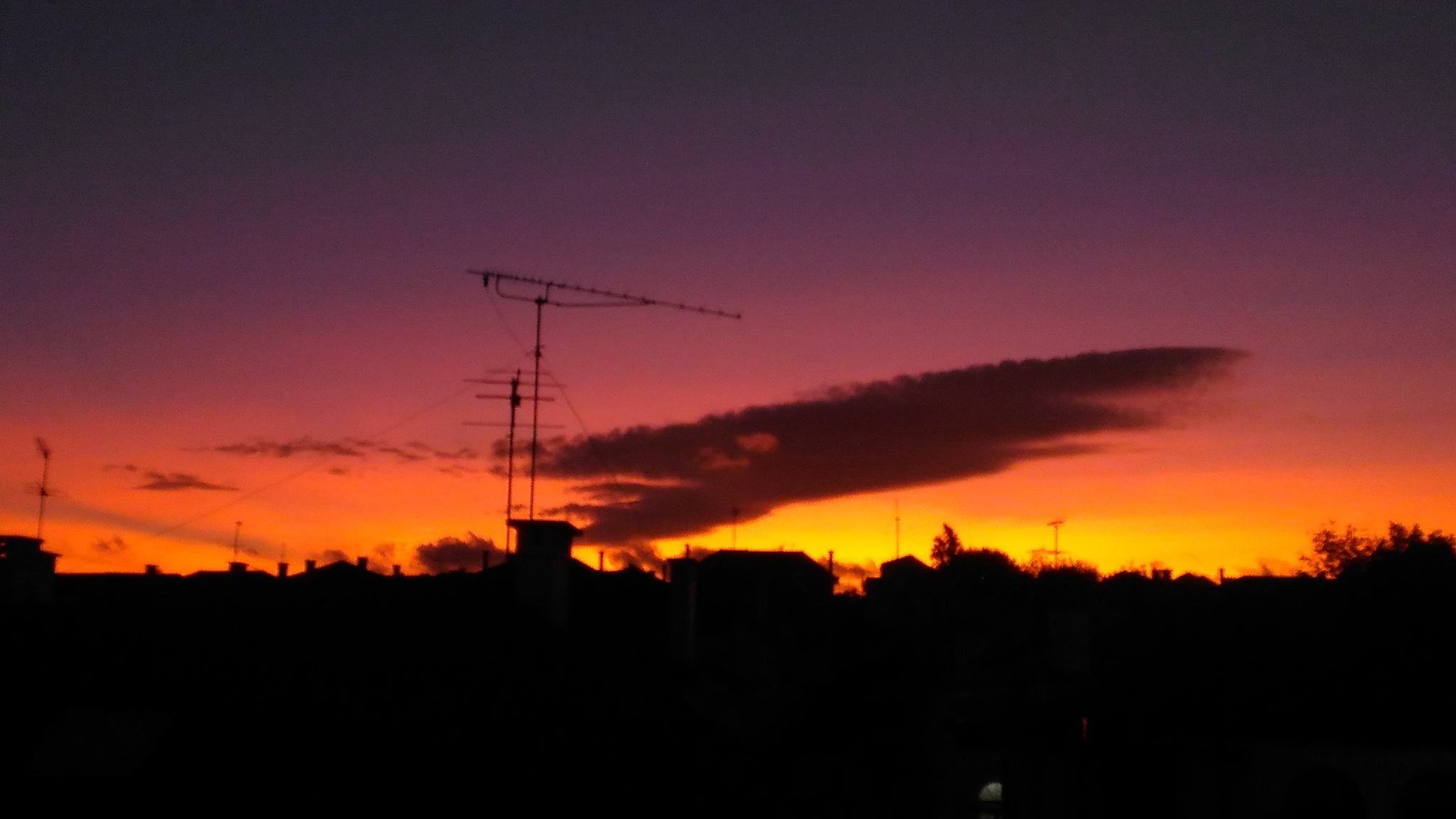 Sunset by Pedro