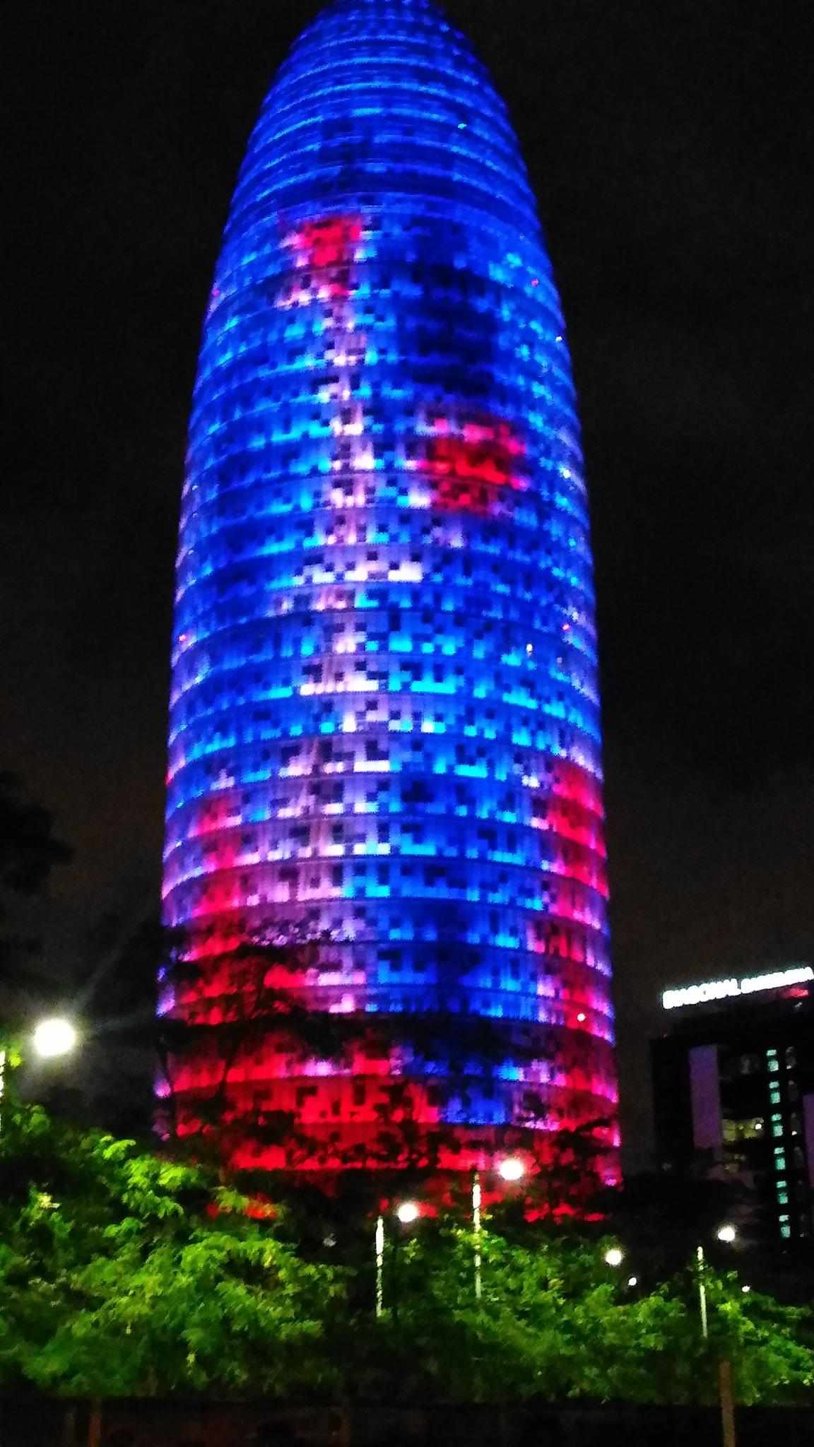 La Torre Glòries by Pedro