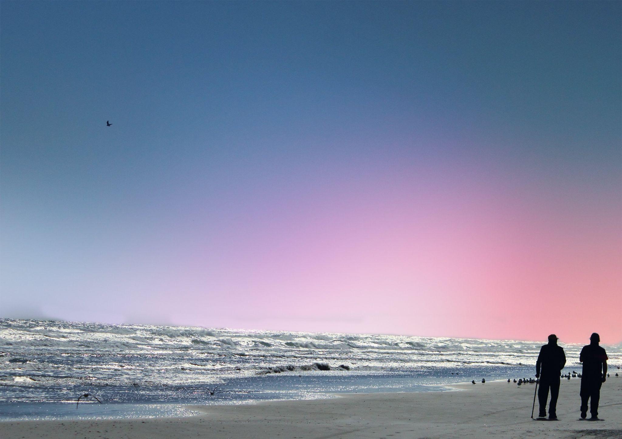 Calm day at the beach by Jackeline Ramirez