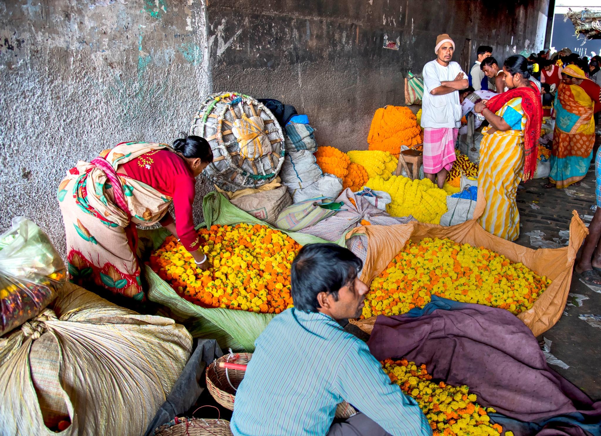 Flower Market by Shafiqul Islam Shiplu Photography