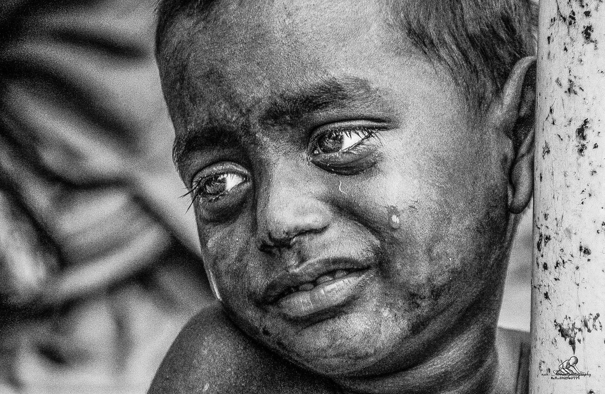 CRYING ANGEL  by shovon.thasin