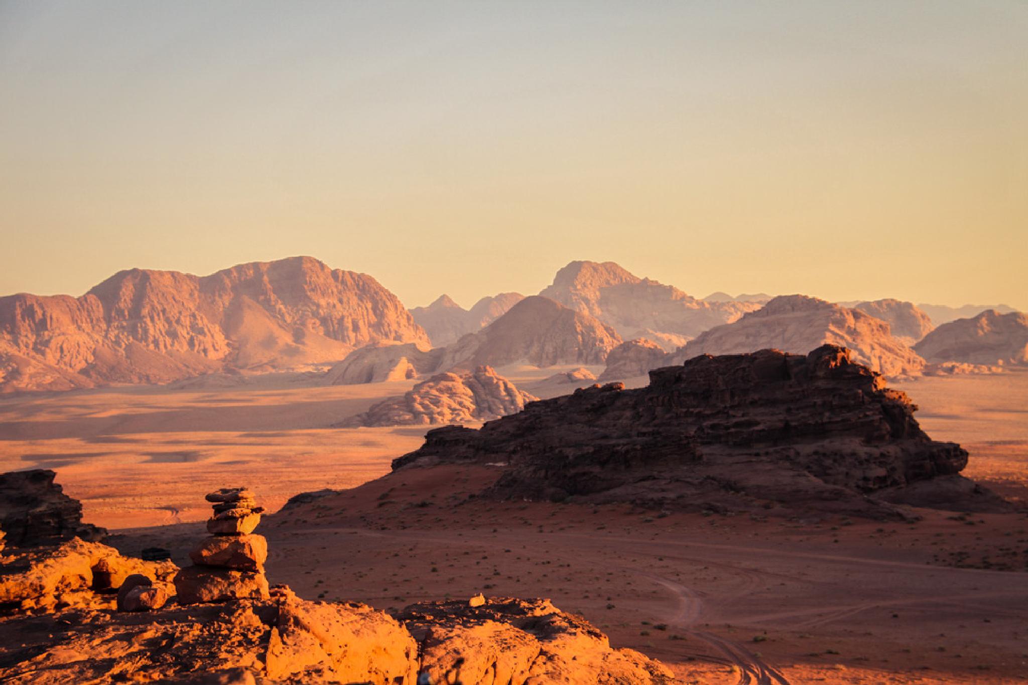 Wadi Rum Ⅳ by KozueISHIMOTO