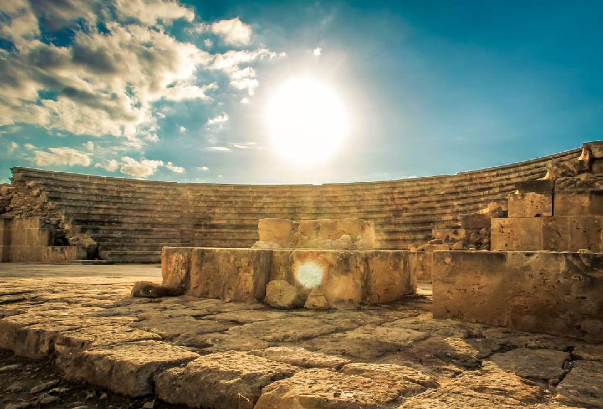 Pafos Ruins by KozueISHIMOTO