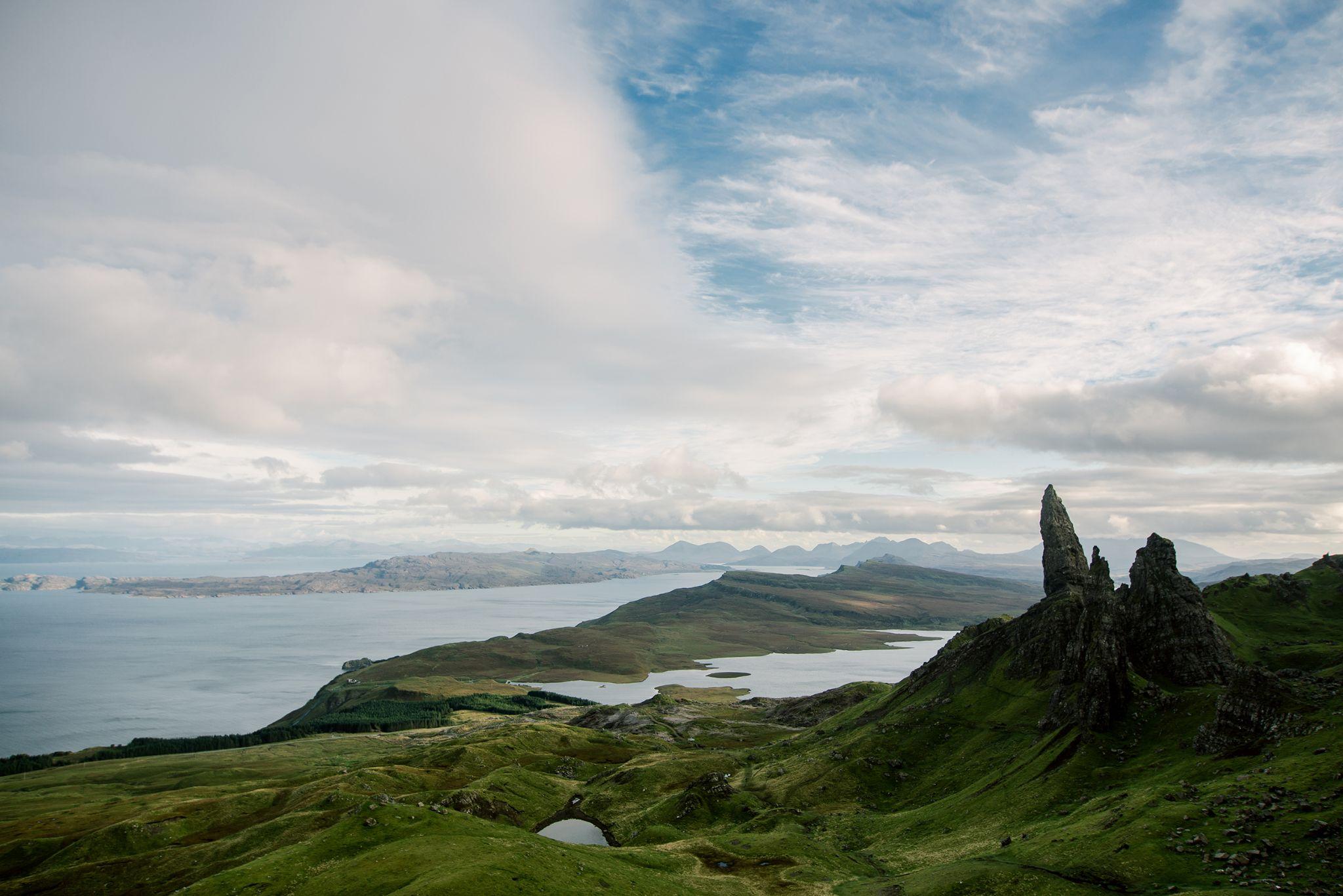 The Old Man of Storr, Isle of Skye by gorynski