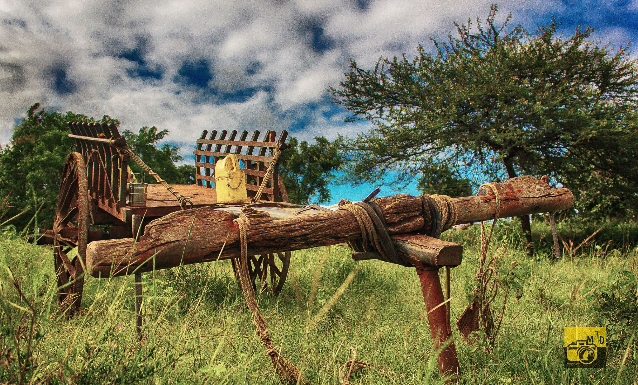 High Dynamic Range (HDR) Image of a bullock cart ------ by arindam dhar