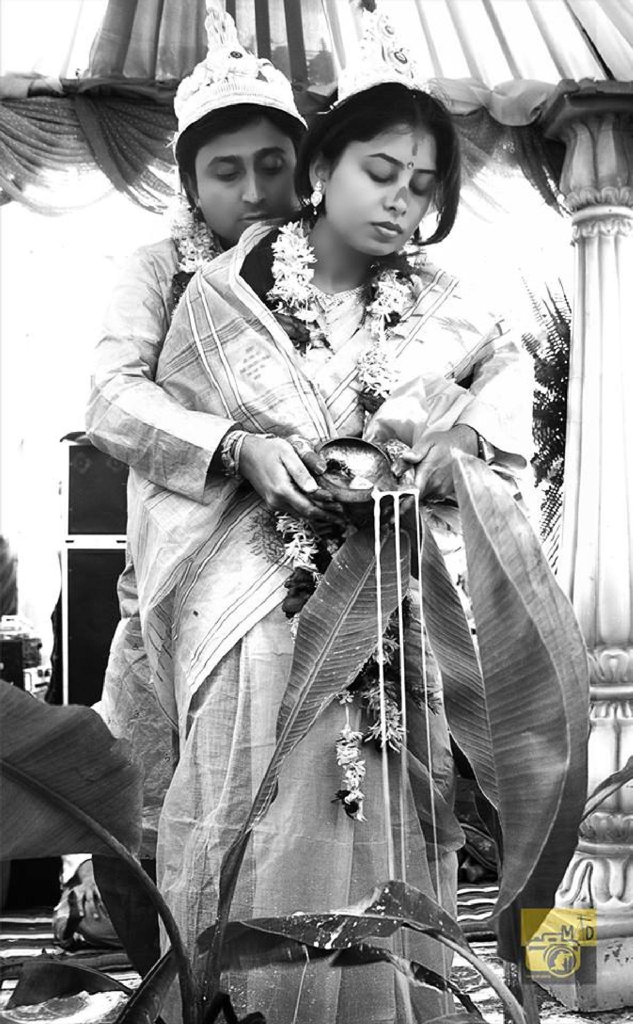 Post Wedding Rituals in Bengali Wedding : Bashi Biye by arindam dhar