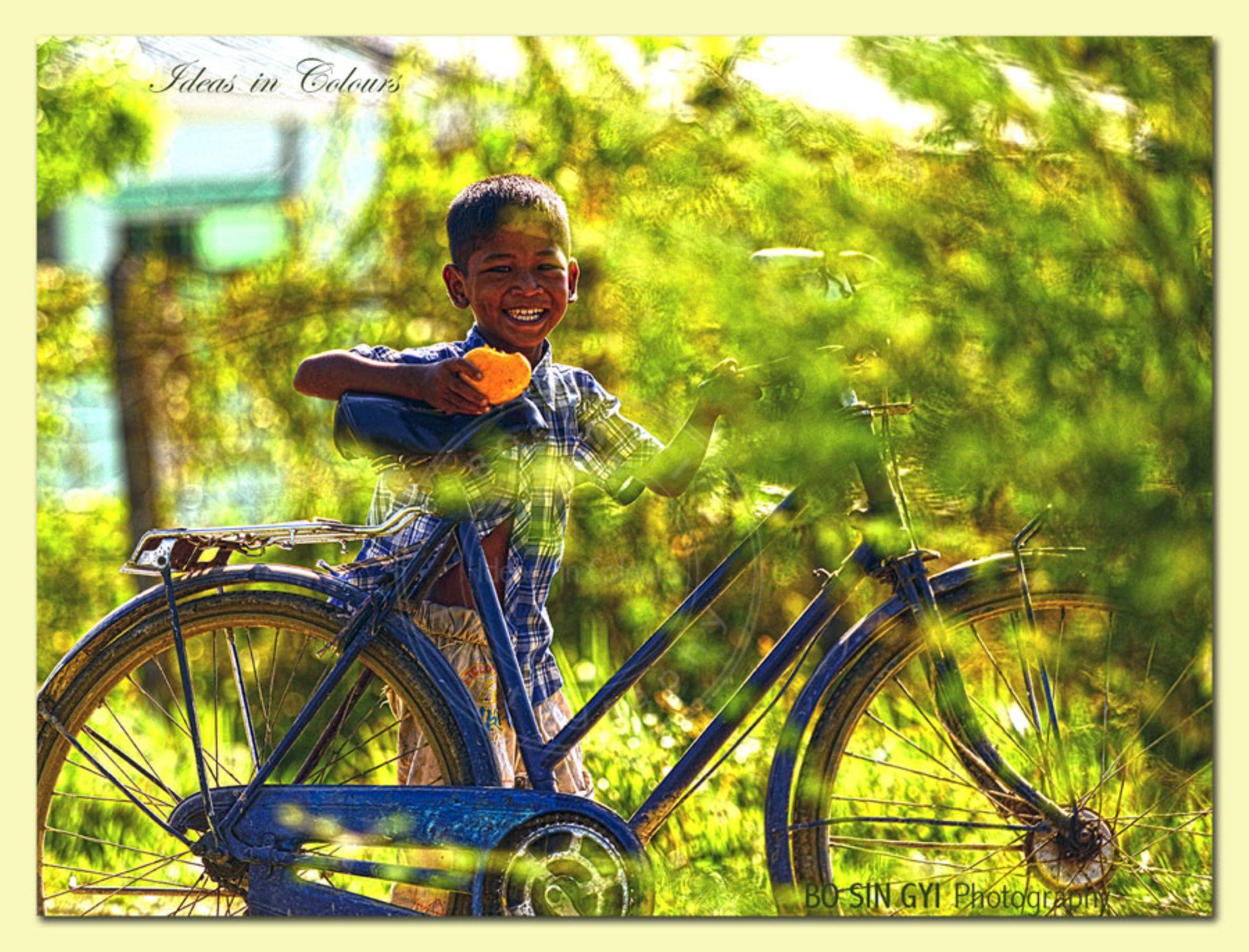 Myanmar's Smile by bosin.gyi