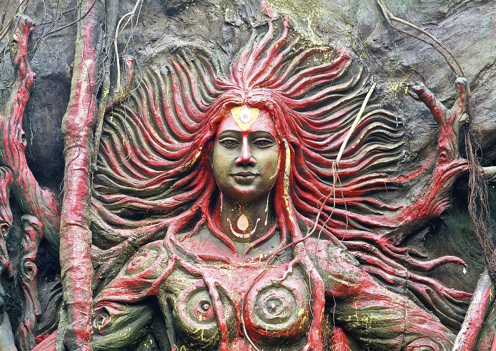 The Goddess ! by Chiranjib Mazumdar