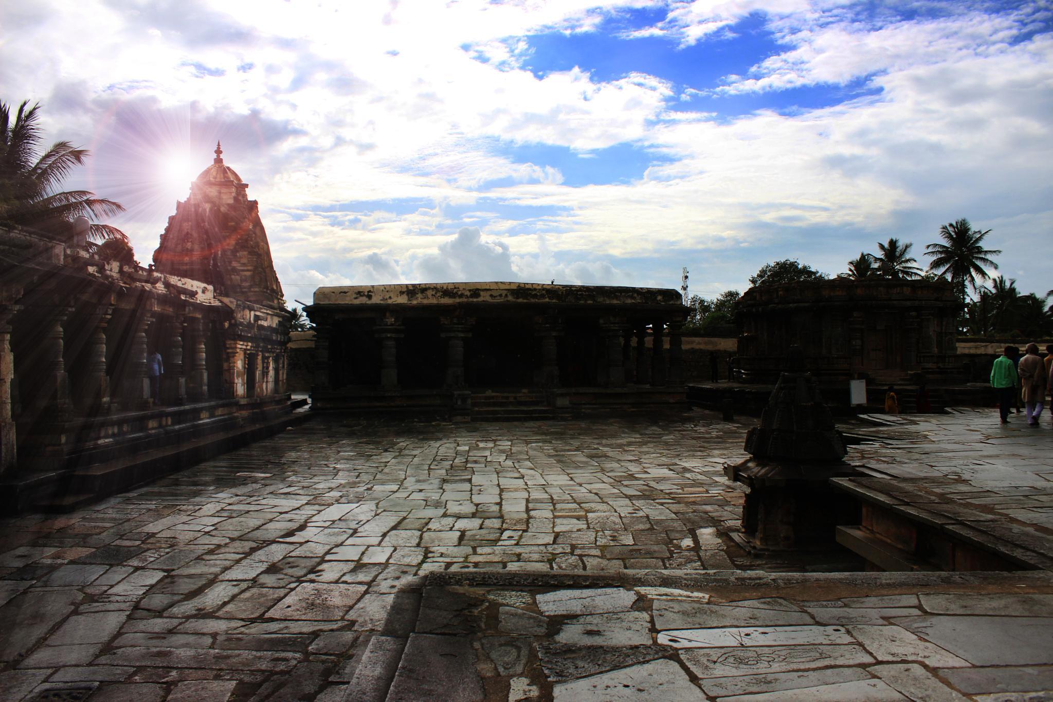 halebid temple by bharath kumar