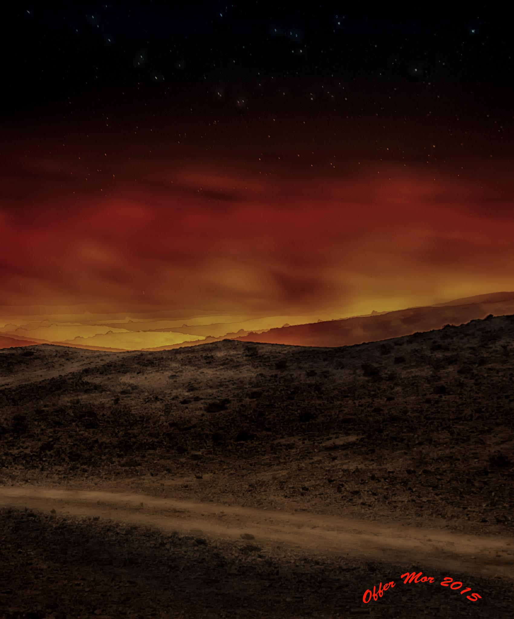 Fire in the Sky by offermor
