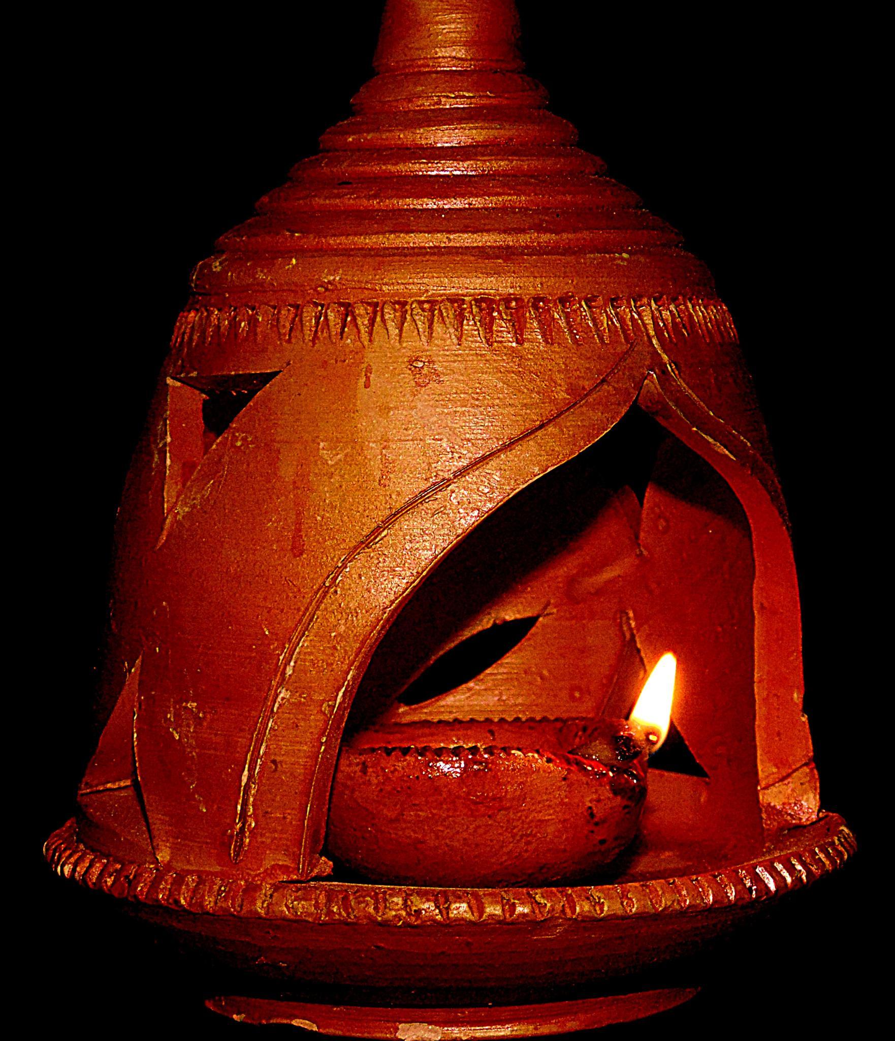 Diwali Diya by Rana Sarkar