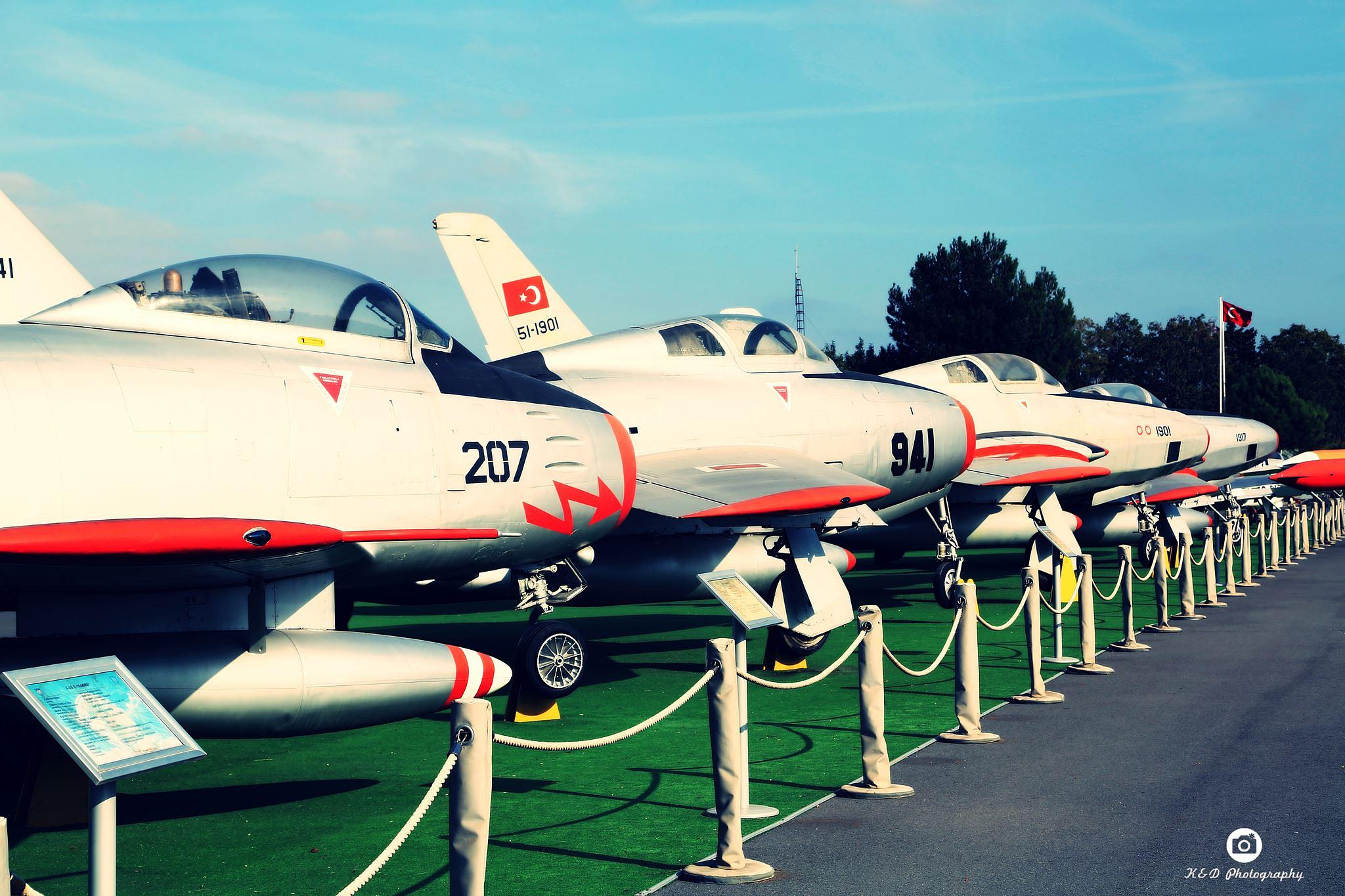 Yesilkoy Aviation Museum / Turkey by KIVANÇ CANGÜLENÇ
