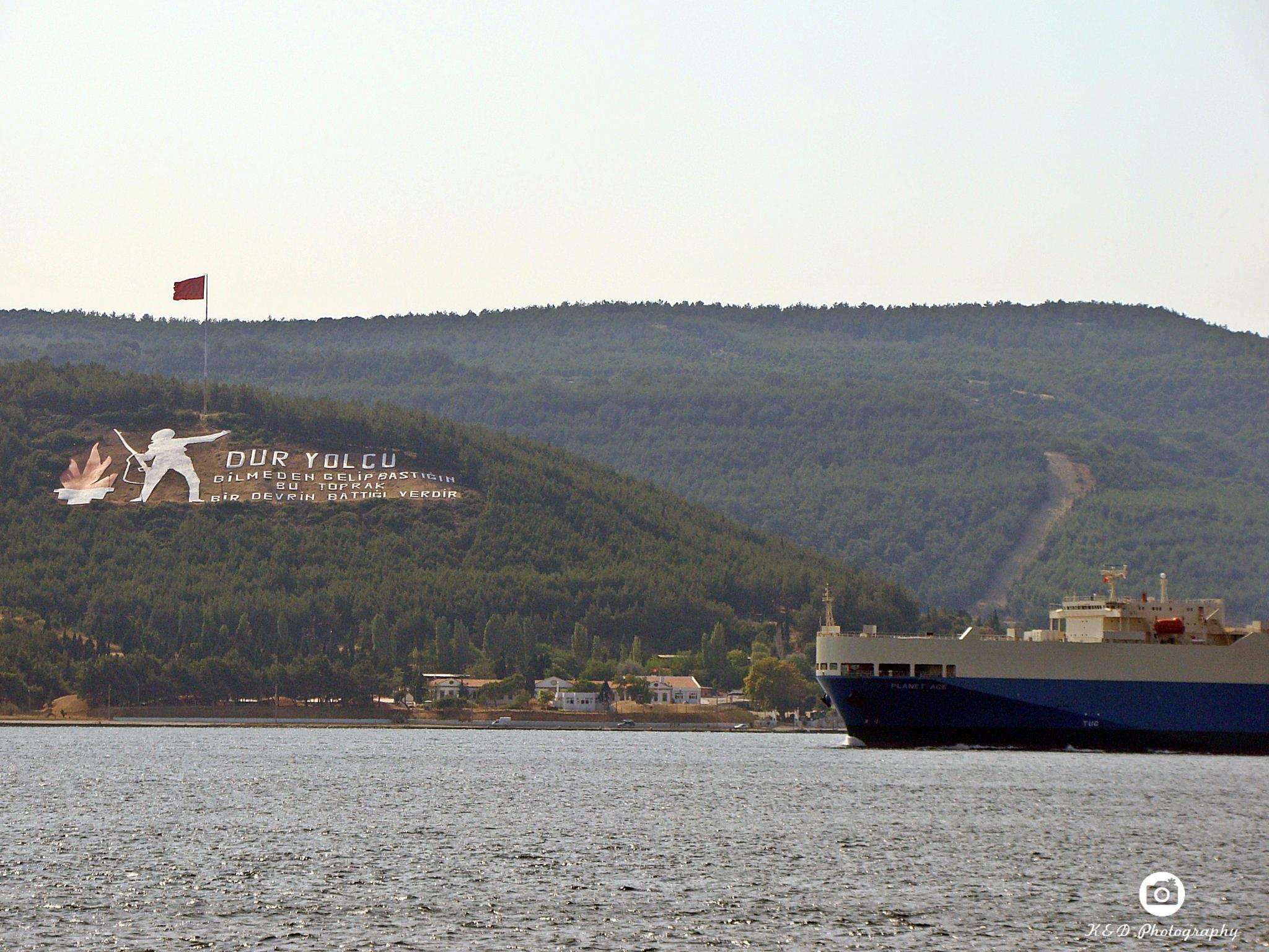 Hellespont / Çanakkale Boğazı / Turkey by KIVANÇ CANGÜLENÇ