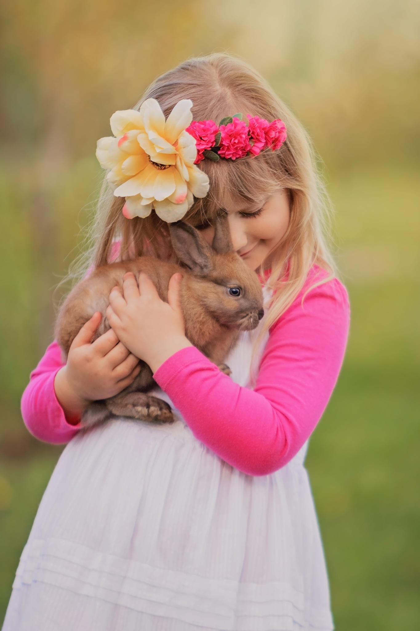 Spring childhood by zdenka.photo