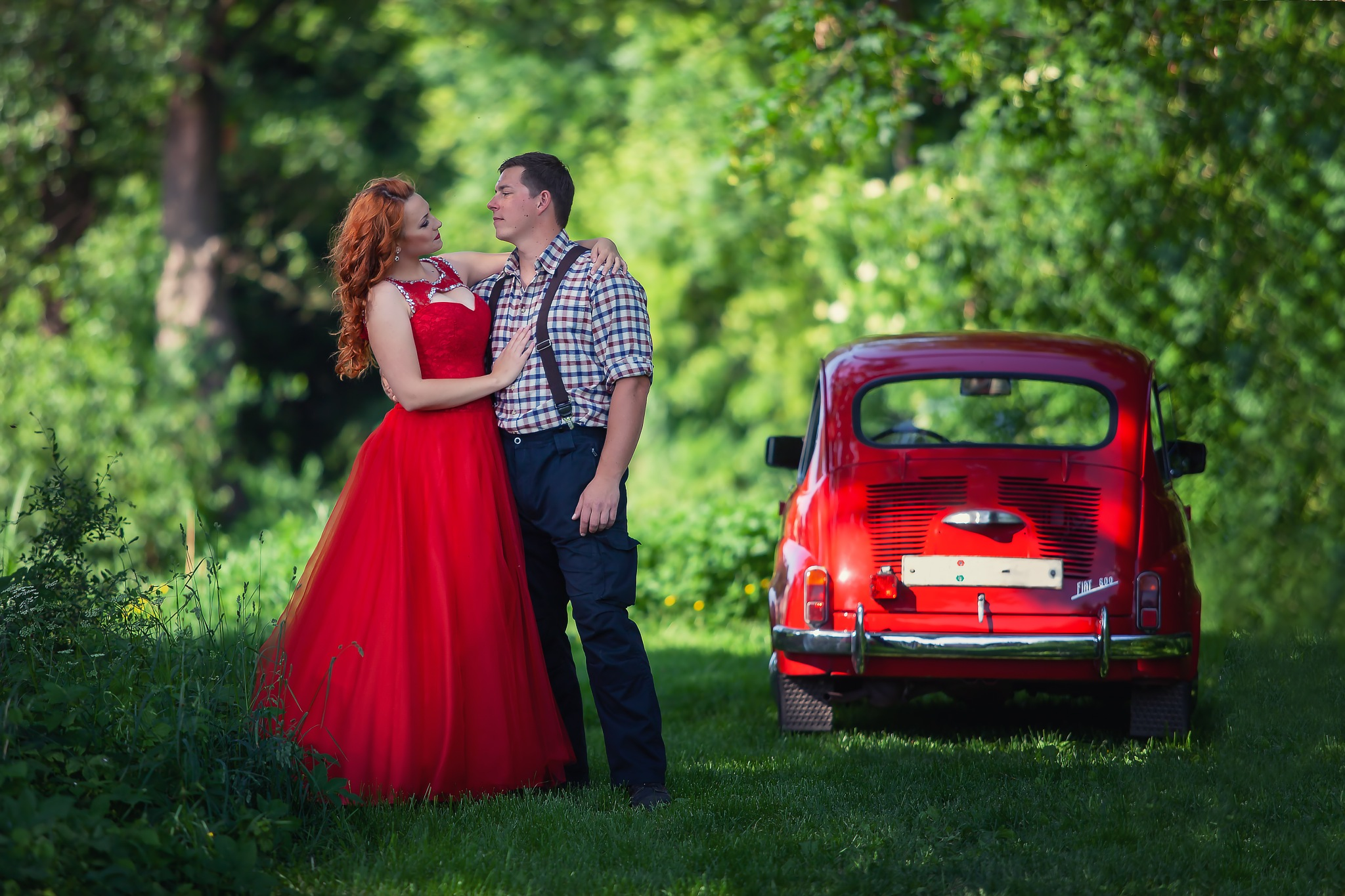 Cinderella and small car  by zdenka.photo