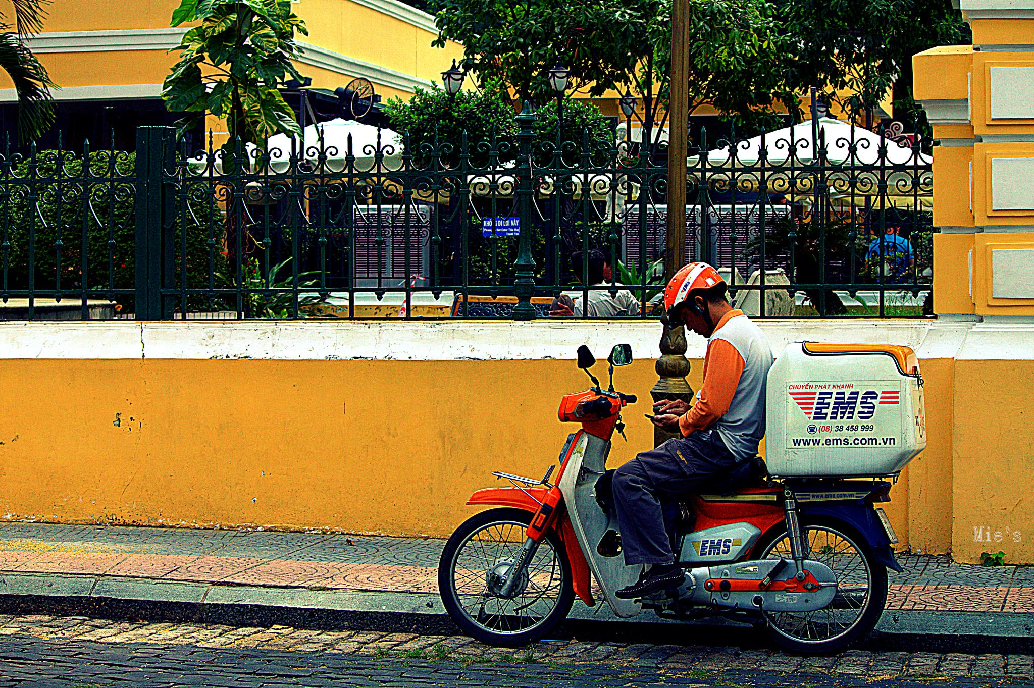 Mr Postman..searching for address..:-) by Amiez38