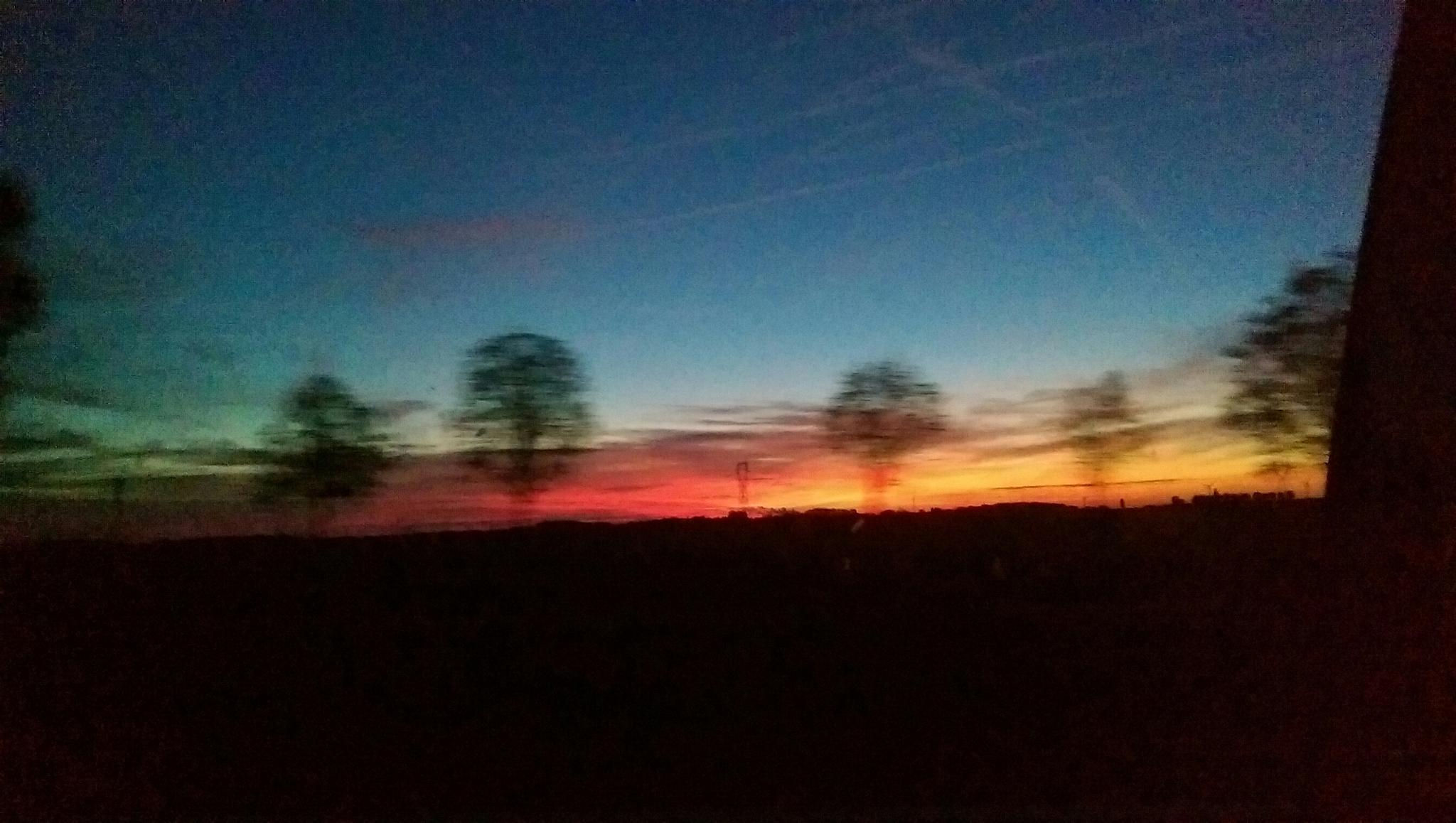 fading sky by Kady H.