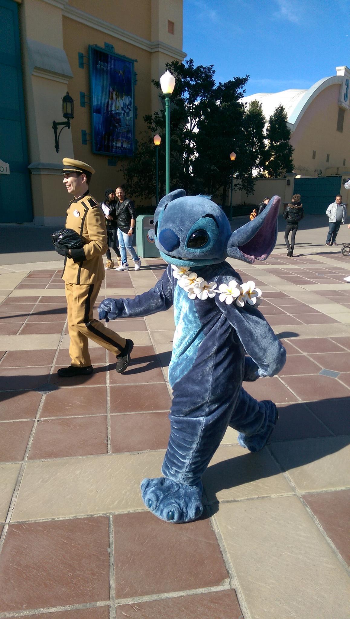 Stitch in Disneyland Paris by Kady H.
