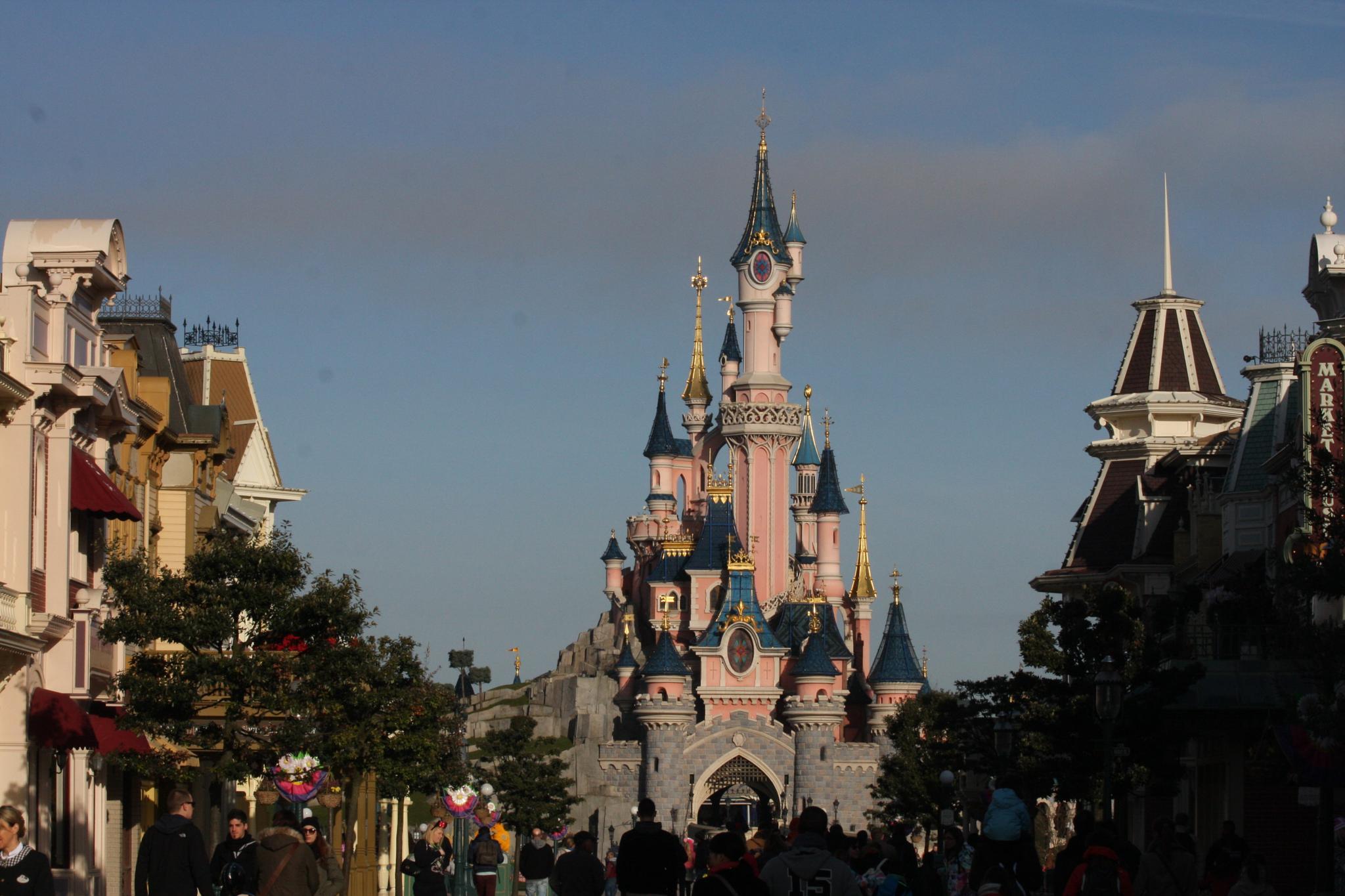 The Disneyland Paris Caslte by Kady H.