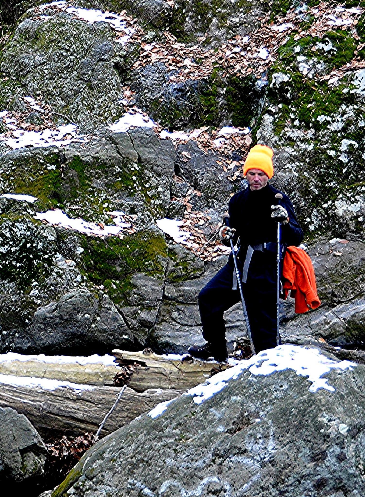 Winter Climb by Joeski