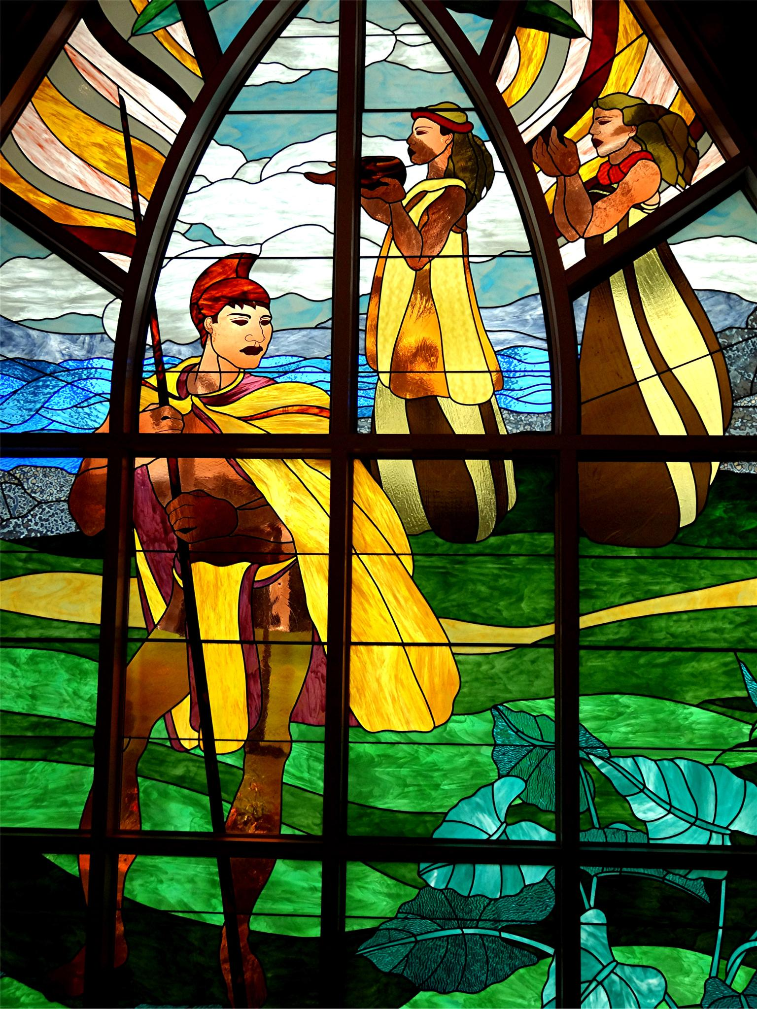 Stained Glass Chapel by Joeski