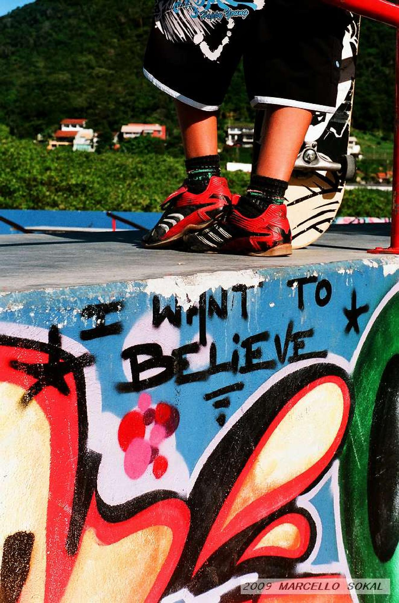 I want to believe by marcello.sokal