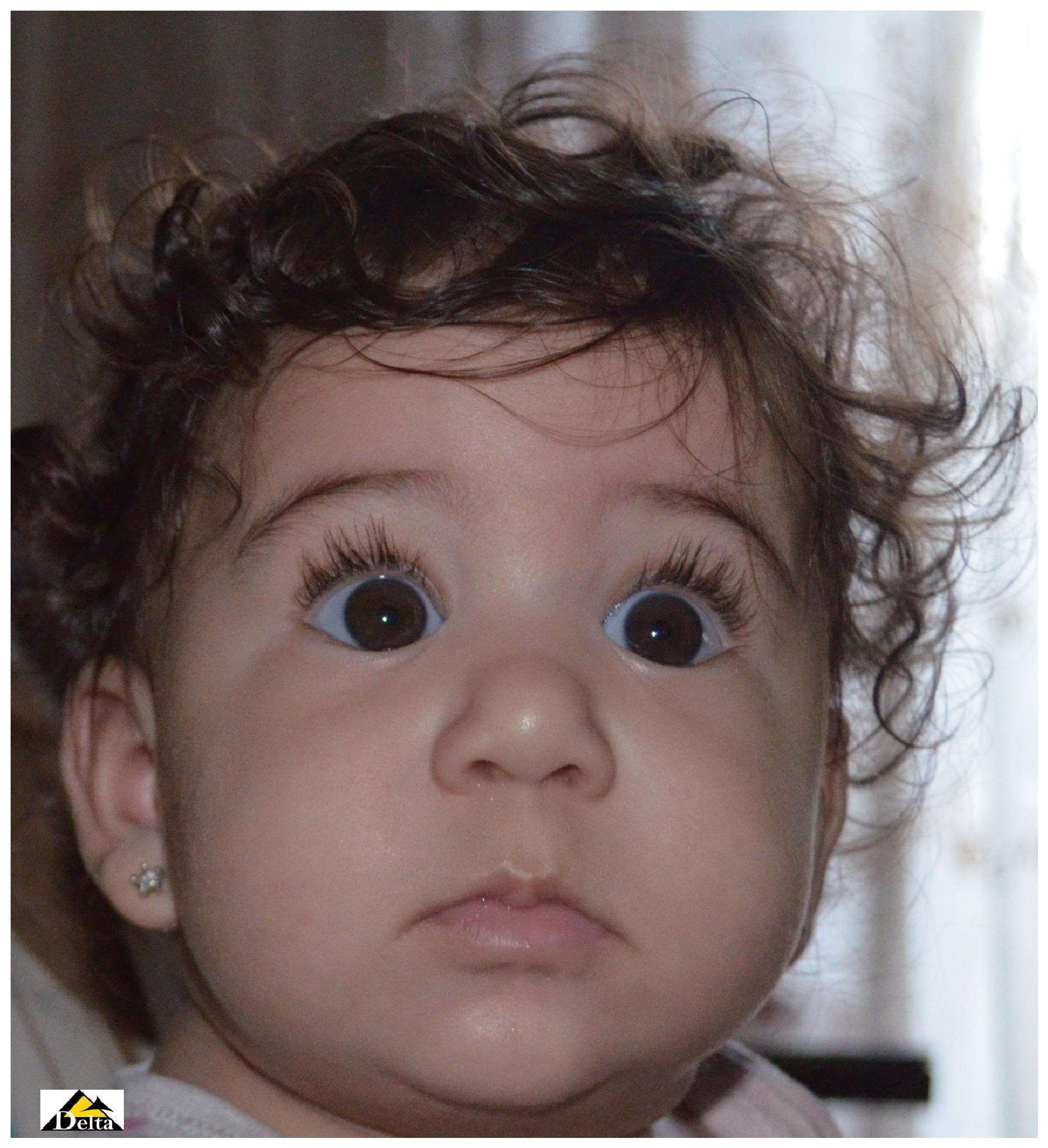 Photo in Portrait #egyptian #girl #child #egypt #cute #baby #cairo #naughty