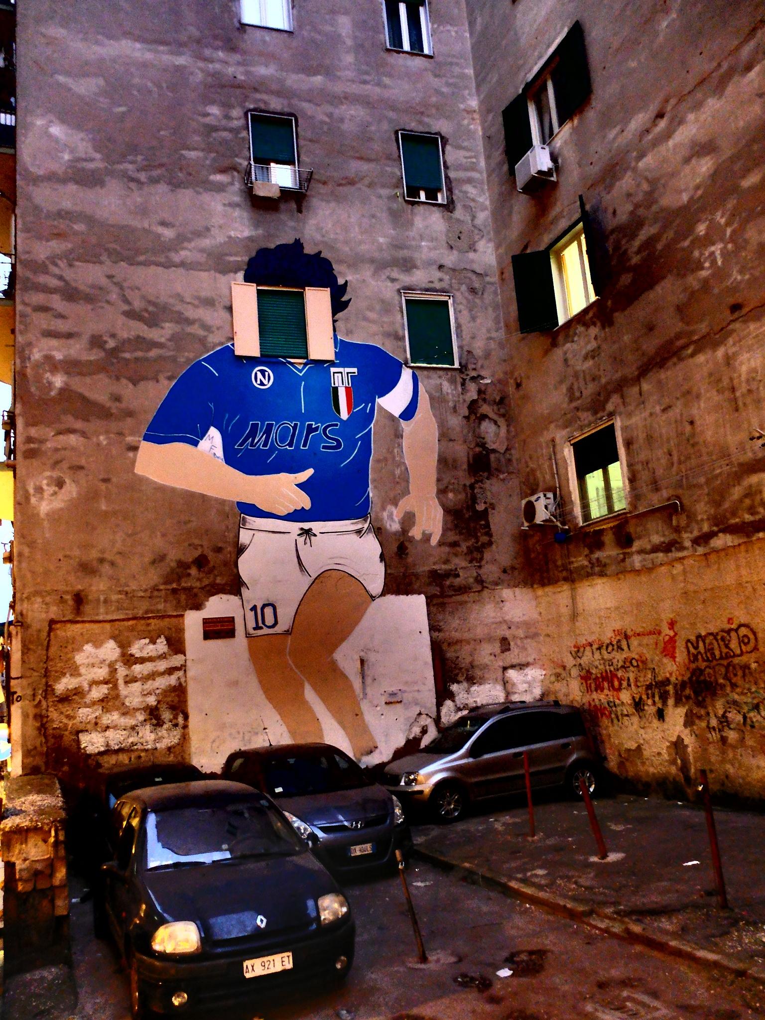 murales maradona in napoli by gigi.sorrentino1